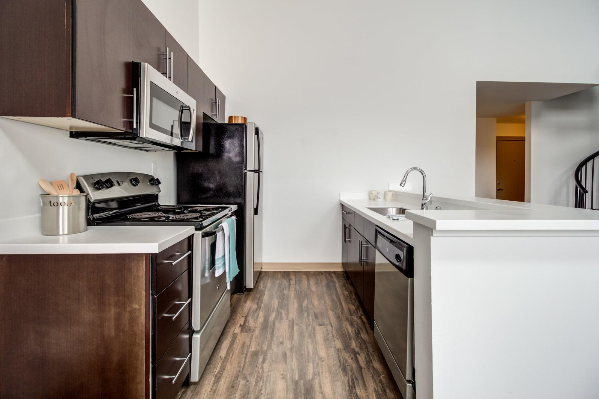 Kitchen Room at Elan 41 Apartments in Seattle, WA