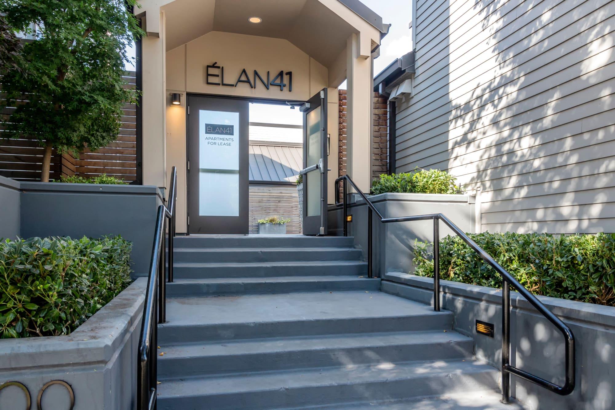 Entrance  at Elan 41 Apartments in Seattle, WA