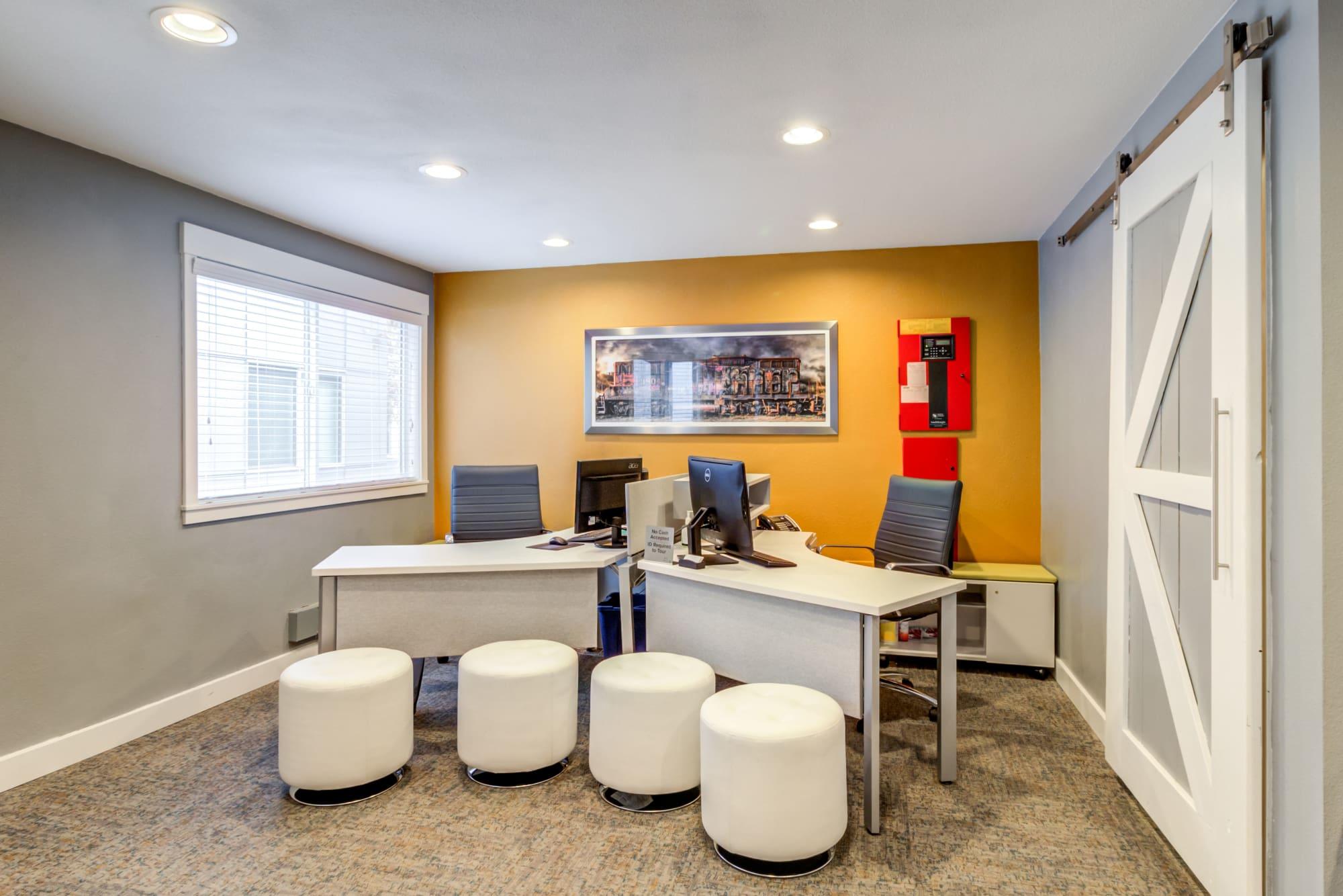 Leasing Office at Elan 41 Apartments in Seattle, WA