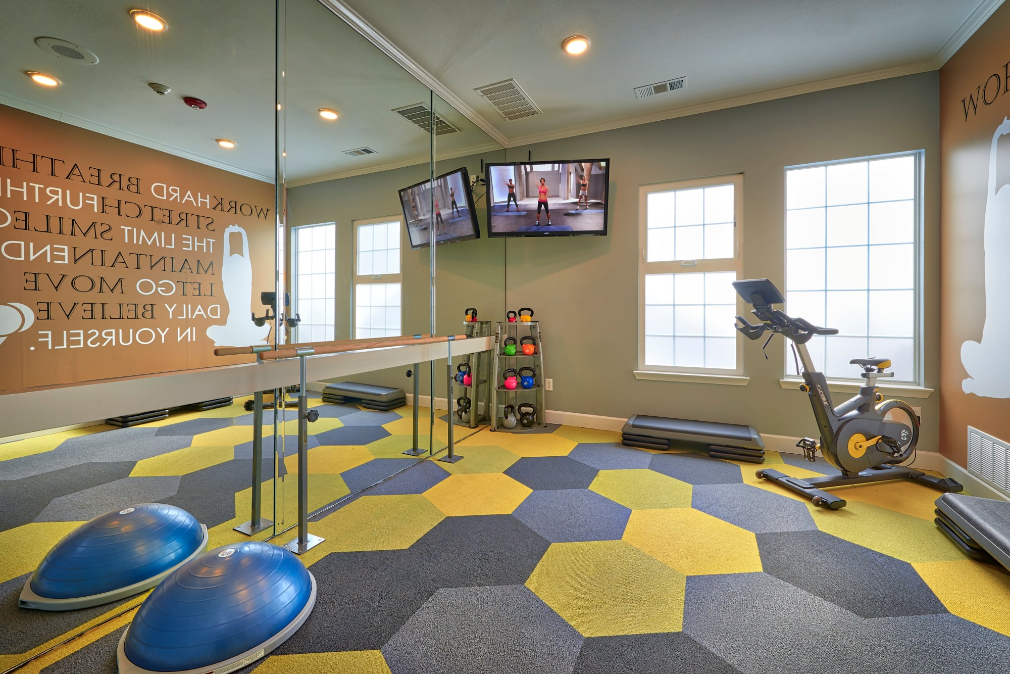 Fitness on demand Legend Oaks Apartments