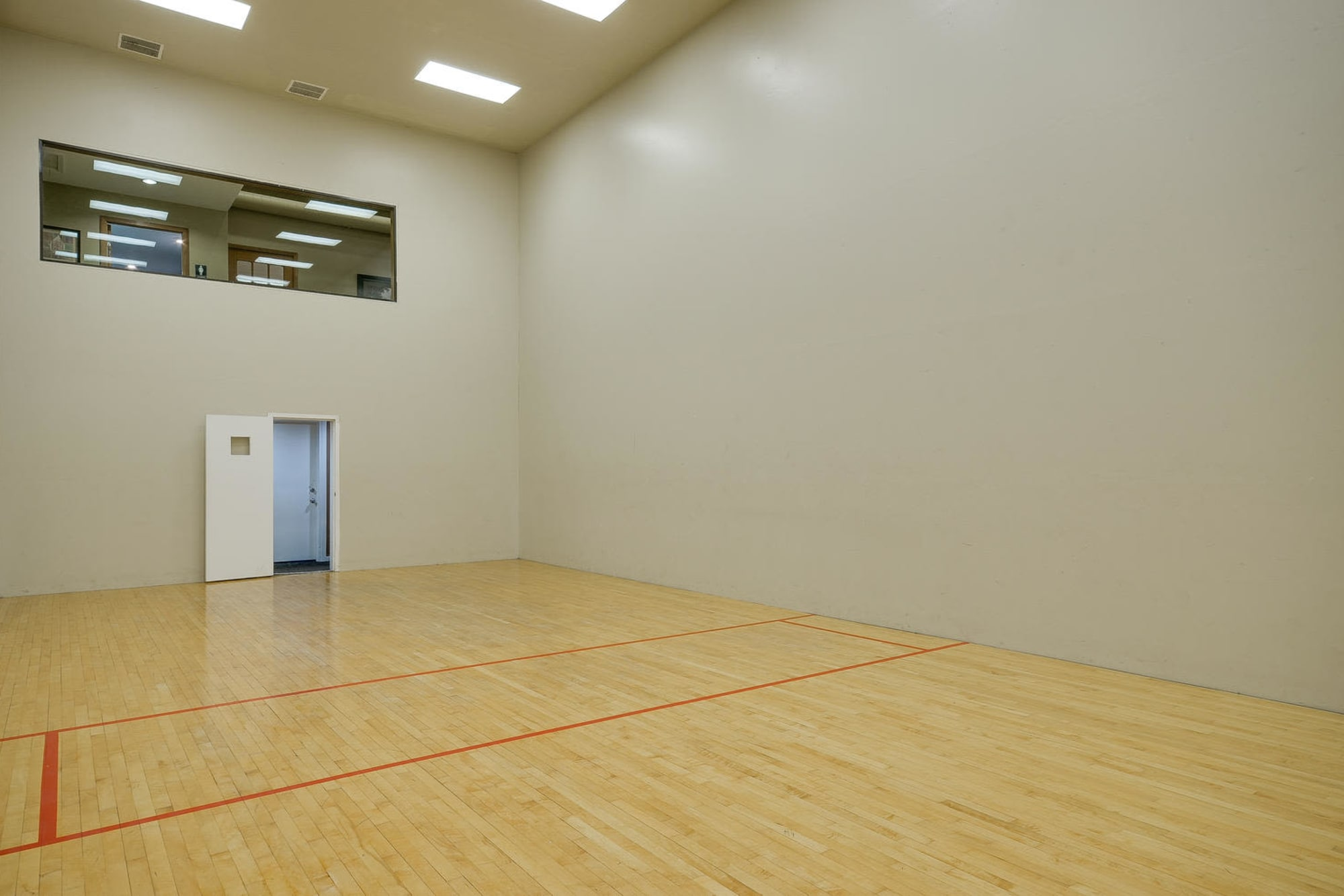 Racquetball court at Arbor Creek Apartments