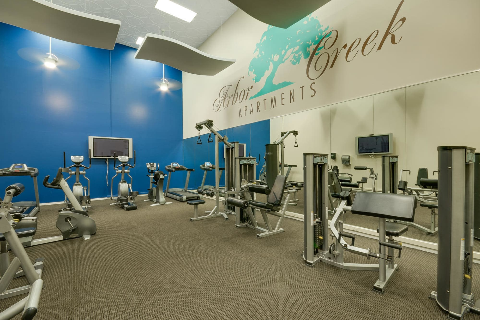 Fitness Center at Arbor Creek Apartments