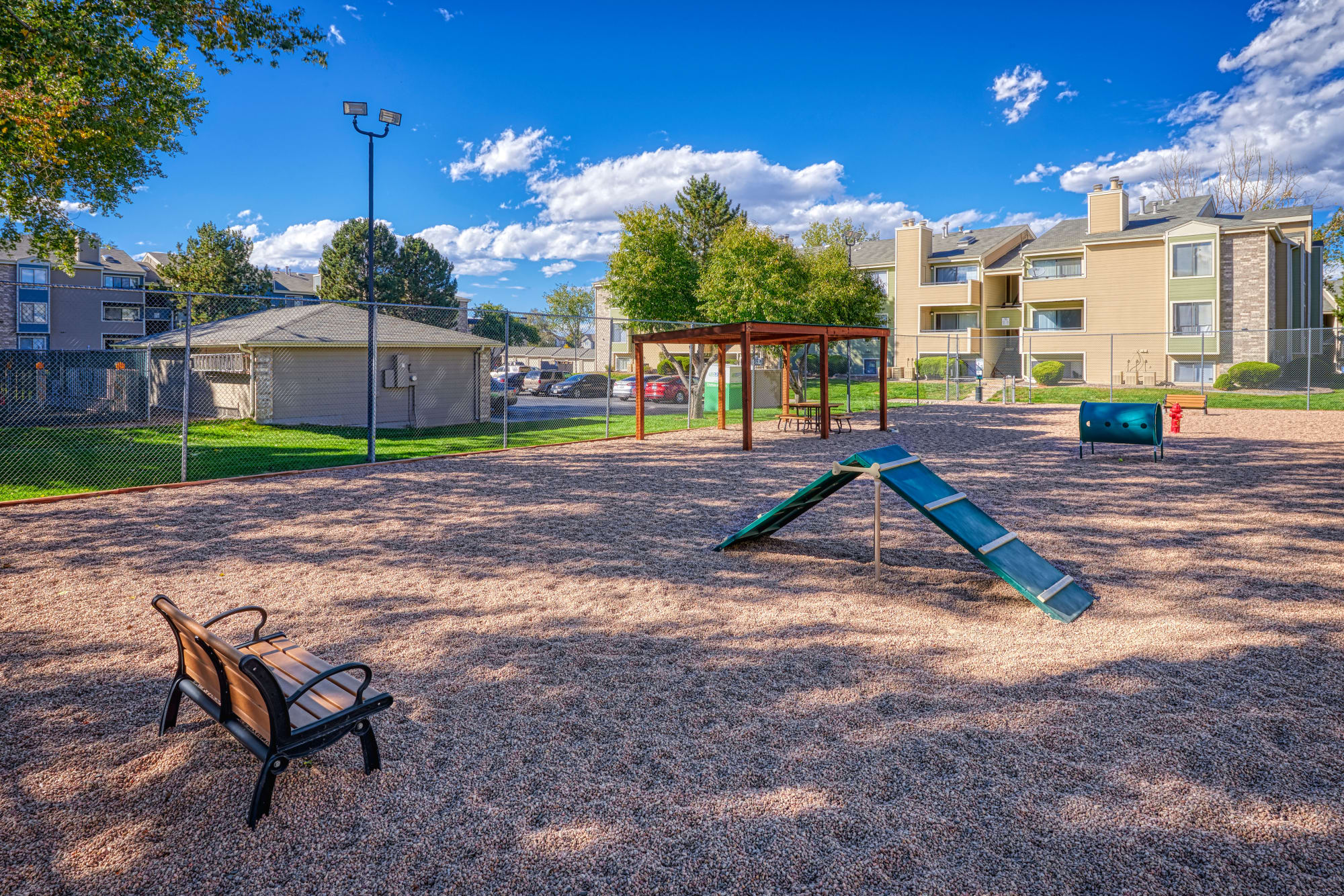 Dog Park at Alton Green Apartments in Denver, CO