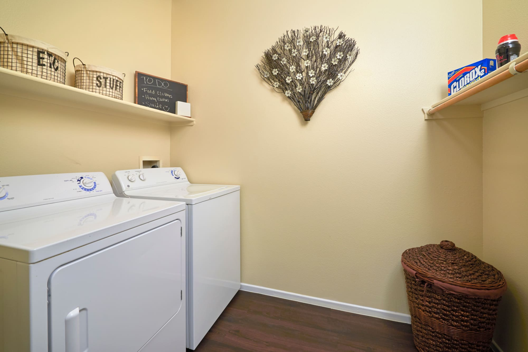 Laundry Room - full sized washer and dryer At Hawthorne Hill Apartments