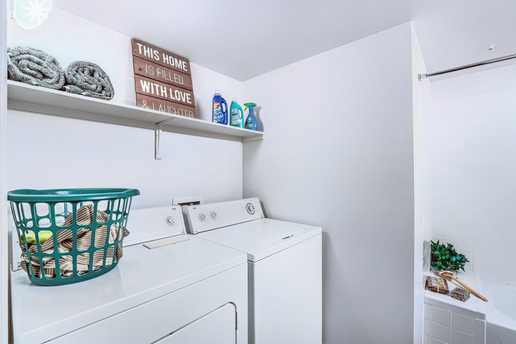 All of our units at Portola Del Sol include a washer and dryer