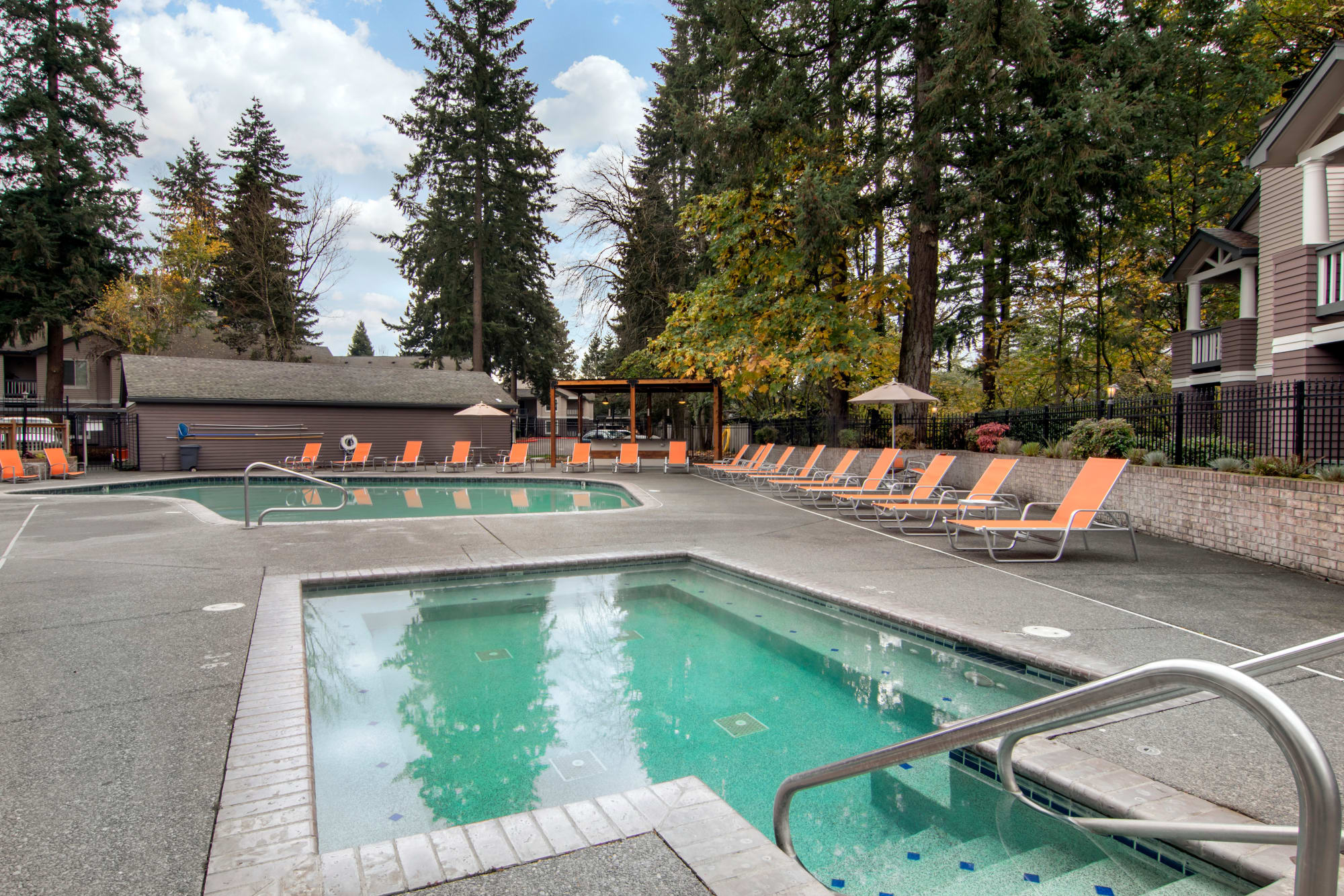 Pool At Autumn Chase Apartments