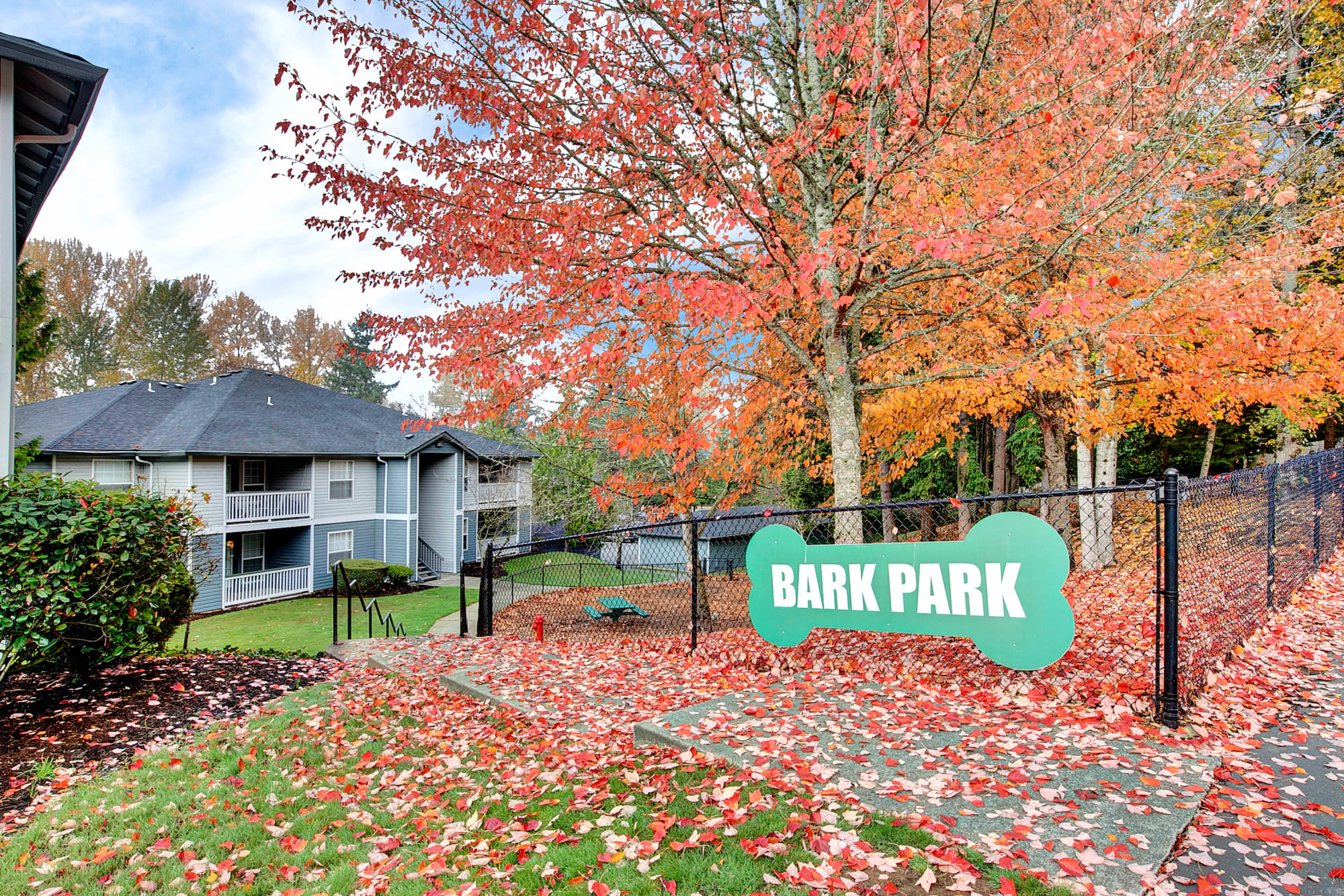 Off-Leash Dog Park at Pebble Cove Apartments