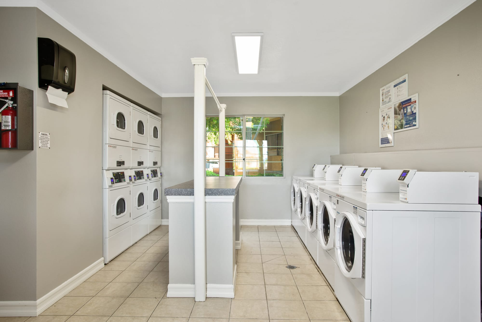 Laundry facility at Shadow Ridge Apartments