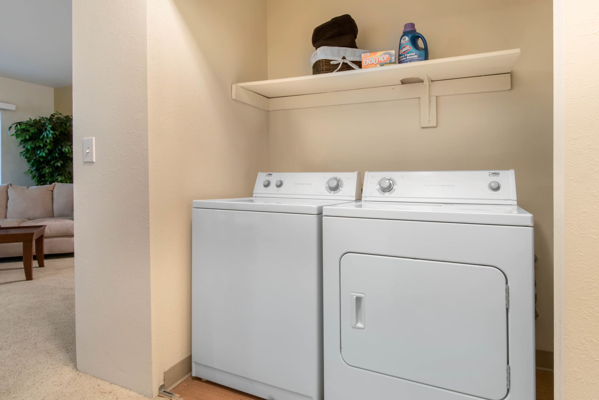 Washer and dryer at Autumn Chase Apartments
