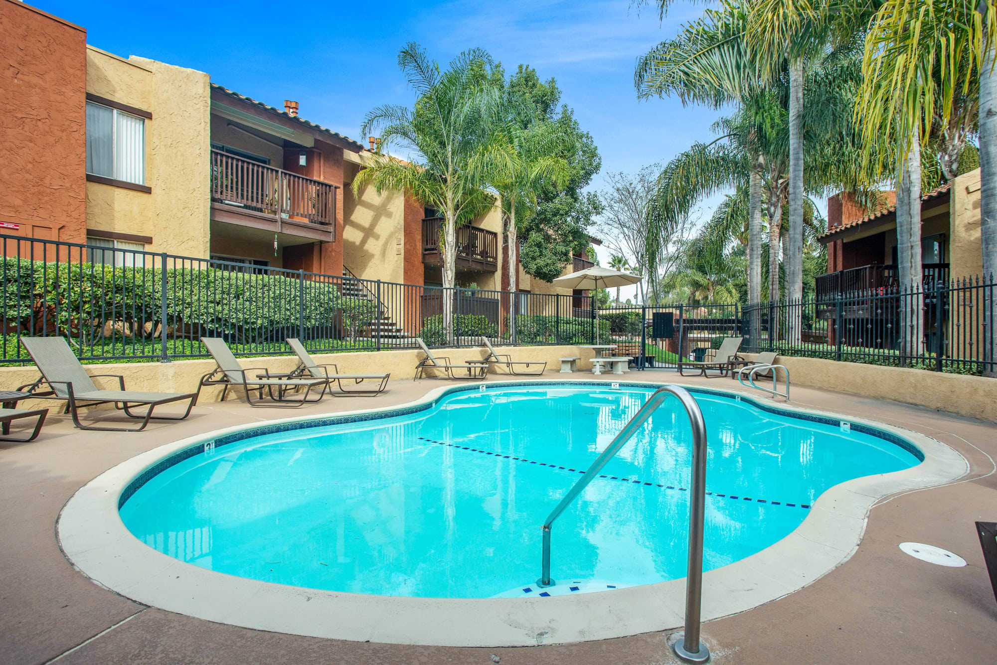Swimming Pool at Shadow Ridge Apartments in Oceanside, CA