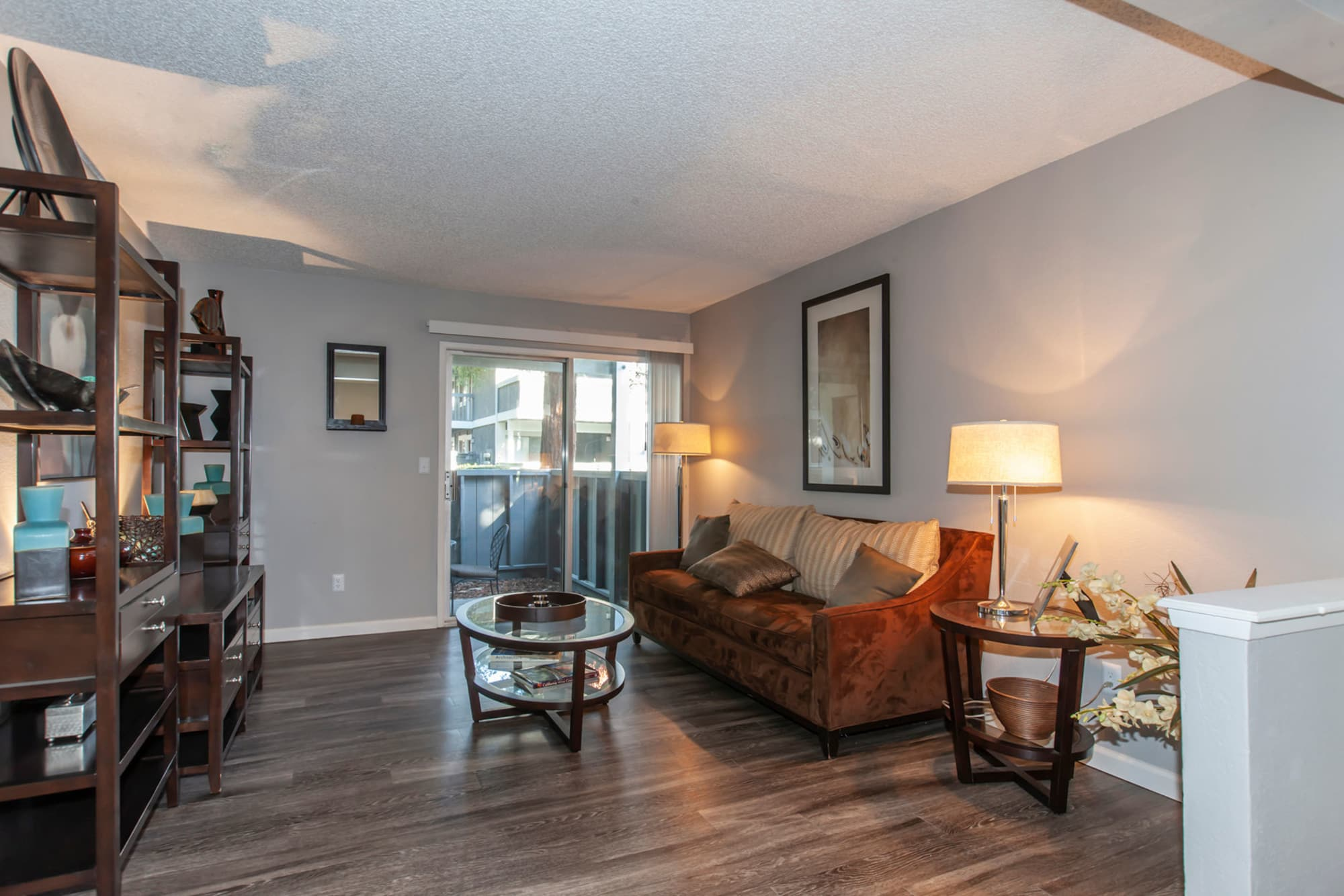 Tall windows and spacious layouts at Avery Park Apartments