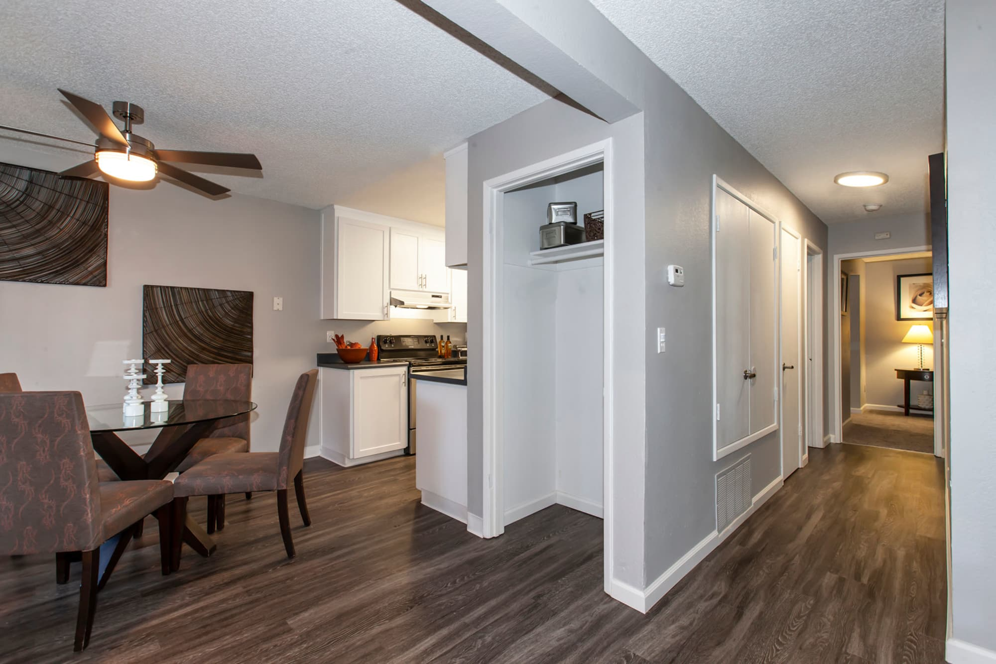 Spacious open floor plan at Avery Park Apartments in Fairfield, California