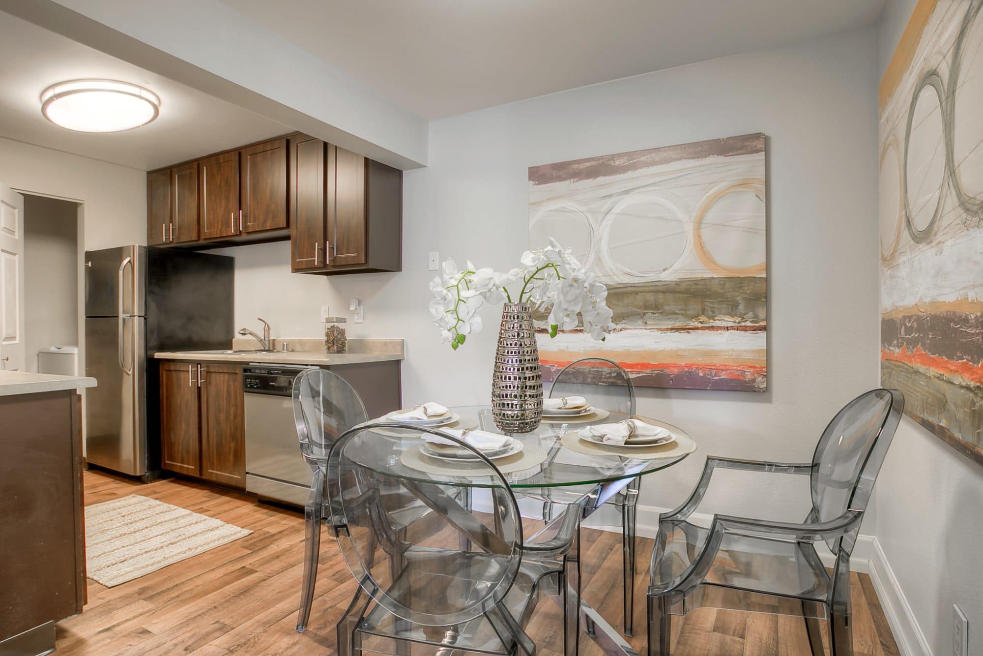 Kitchen at Newport Crossing Apartments