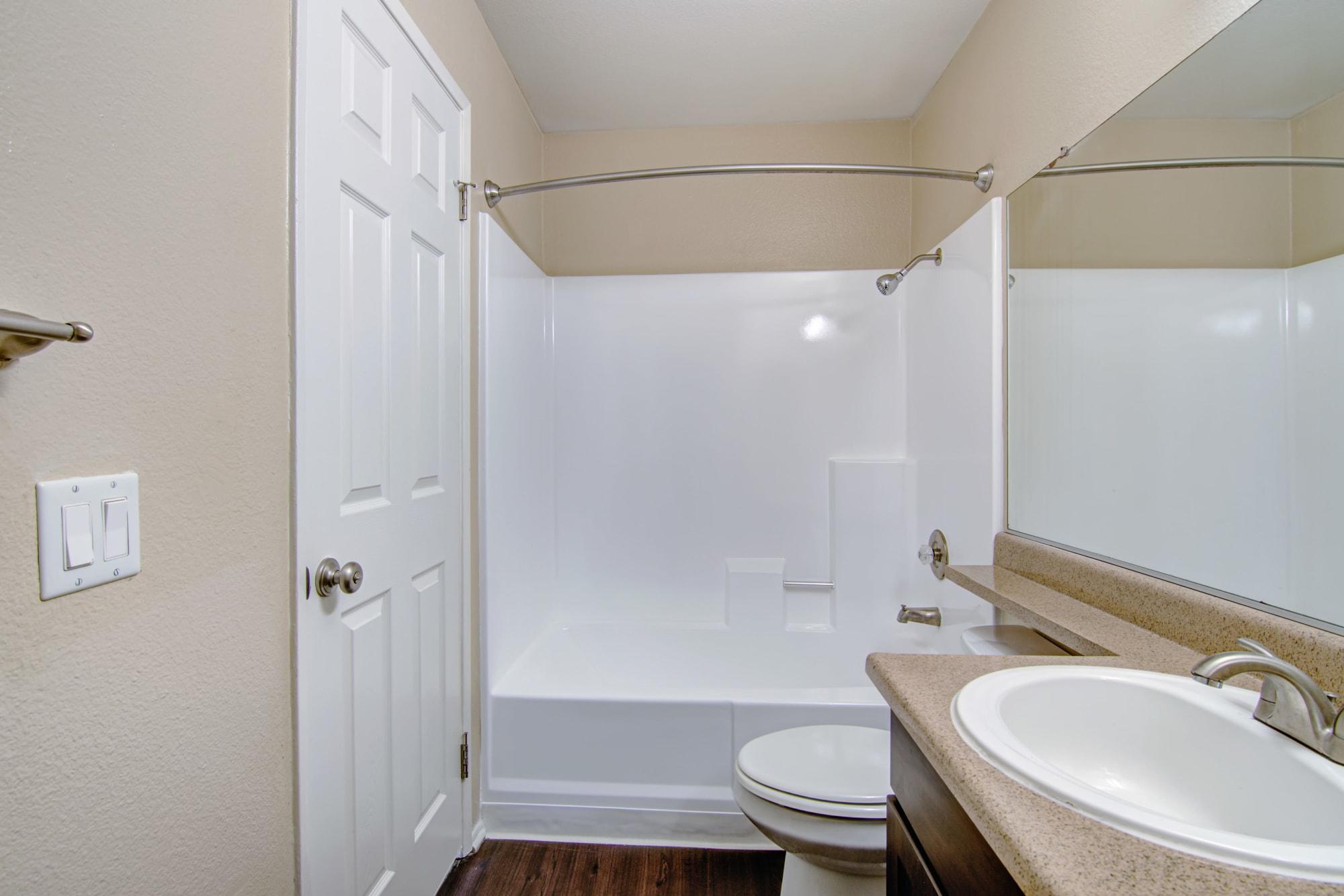 Brown renovation bathroom