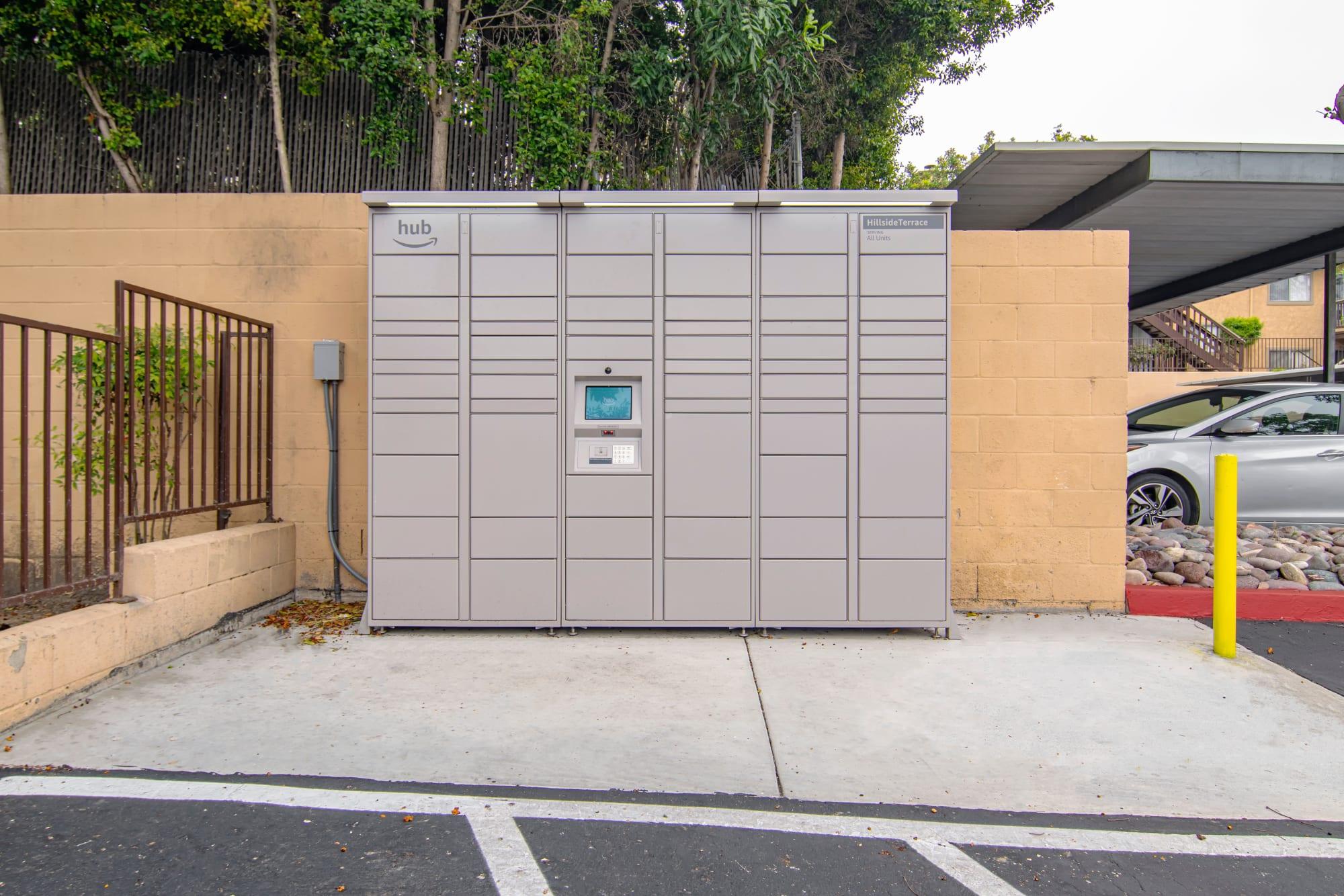 24-hour Package Lockers
