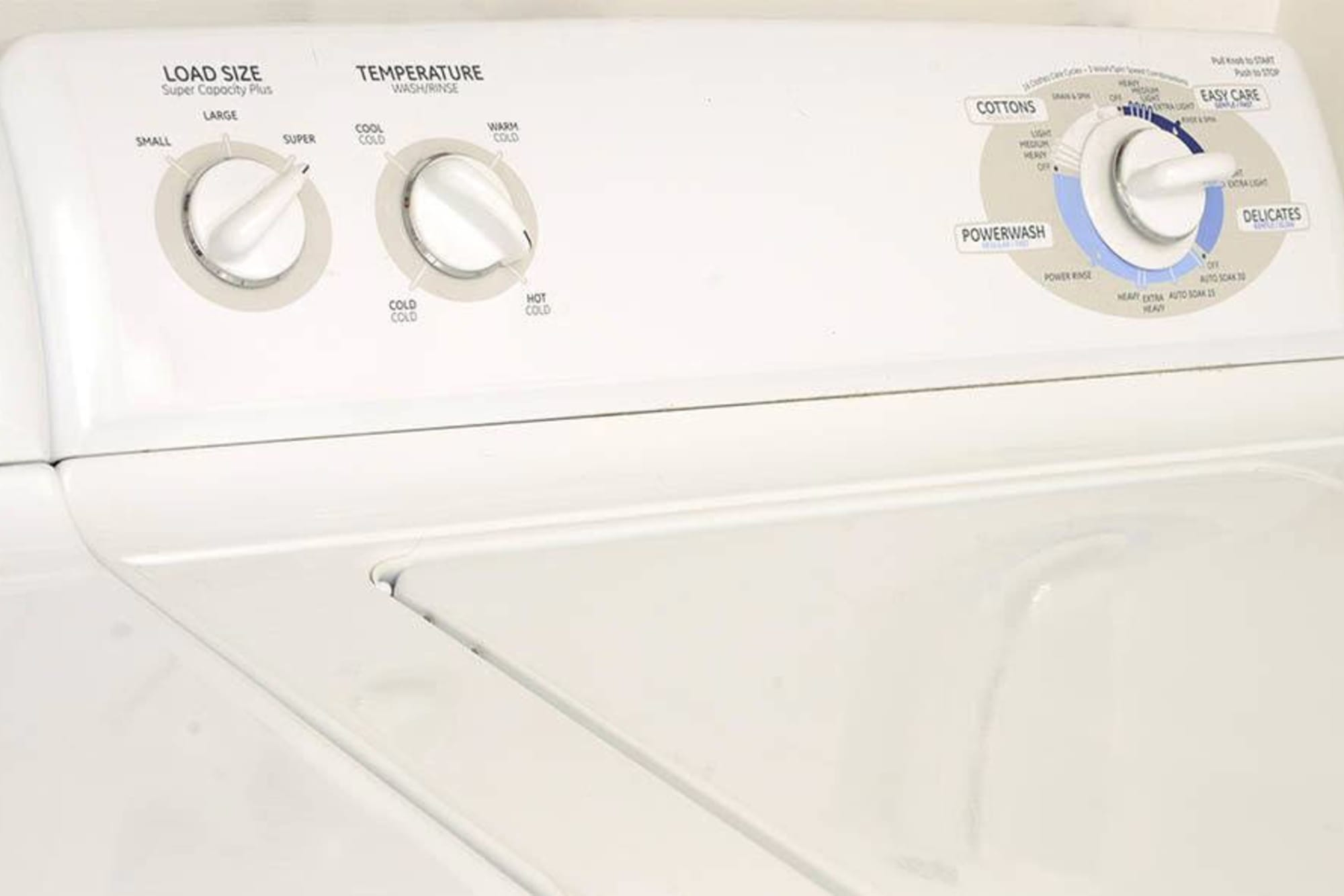 Washer and dryer at Miramonte and Trovas in Sacramento, California