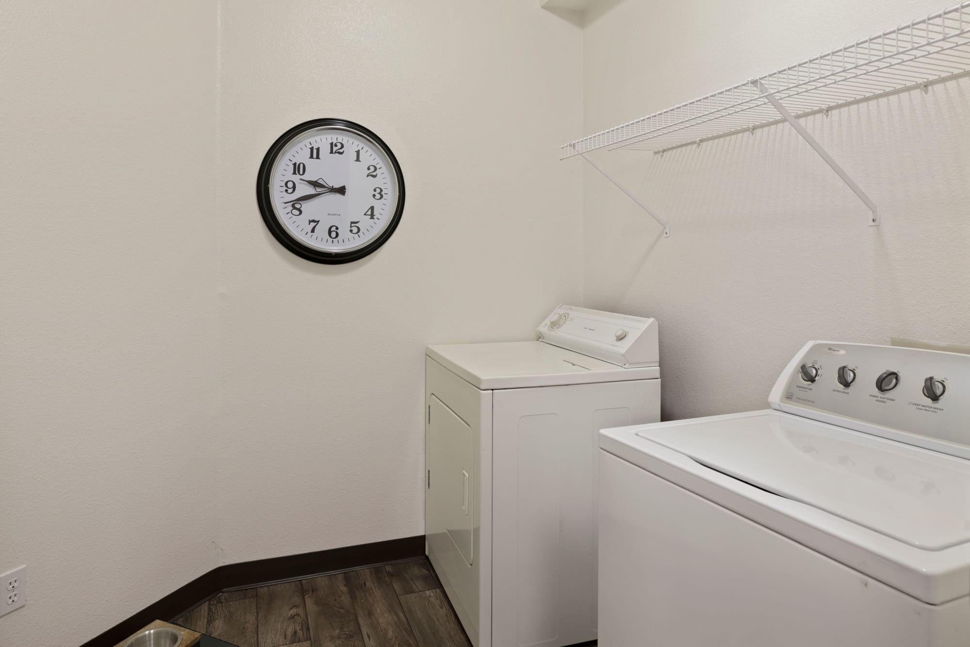 Full-sized Washer & Dryer at