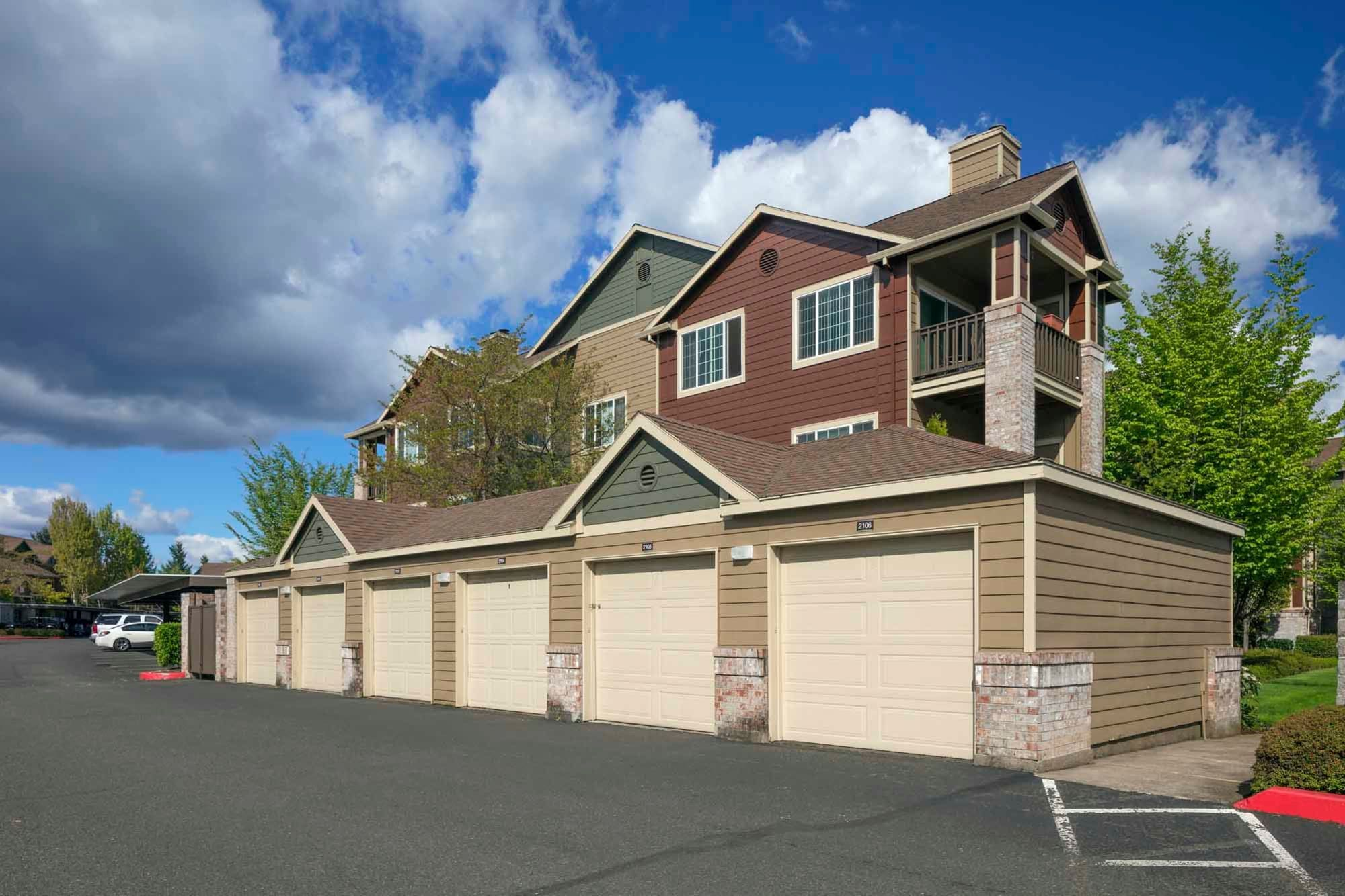A large, 6 car garage near The Grove at Orenco Station in Hillsboro, Oregon