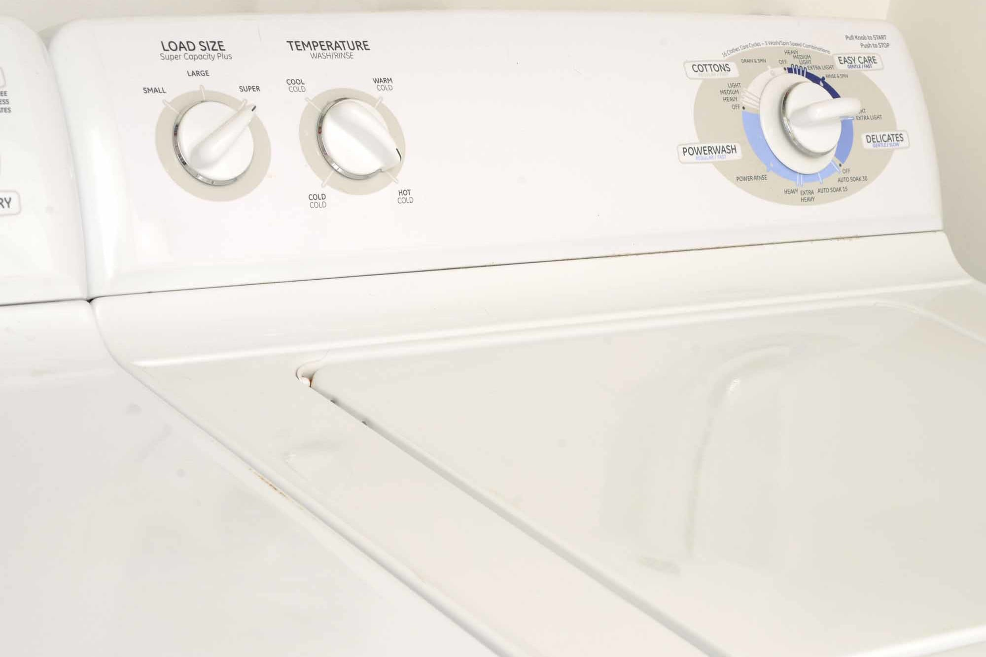 A washer dryer combo at The Grove at Orenco Station in Hillsboro, Oregon