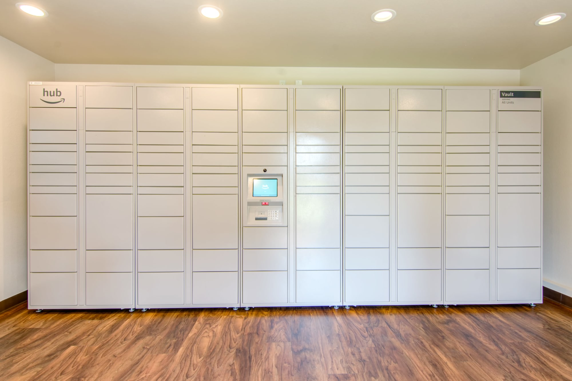 24-hour Amazon HUB Package Lockers