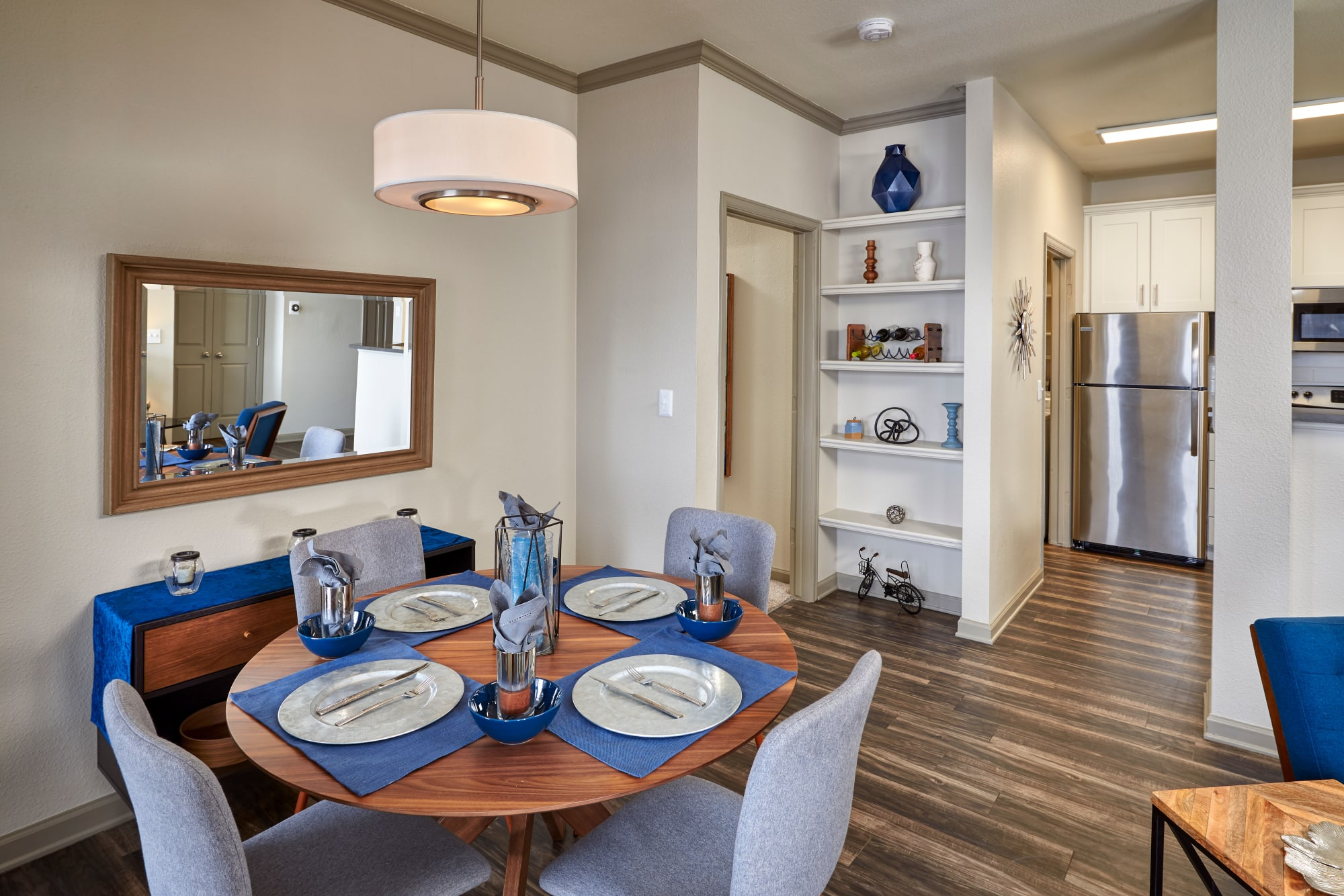Dining Room at Gateway Park Apartments in Denver, CO