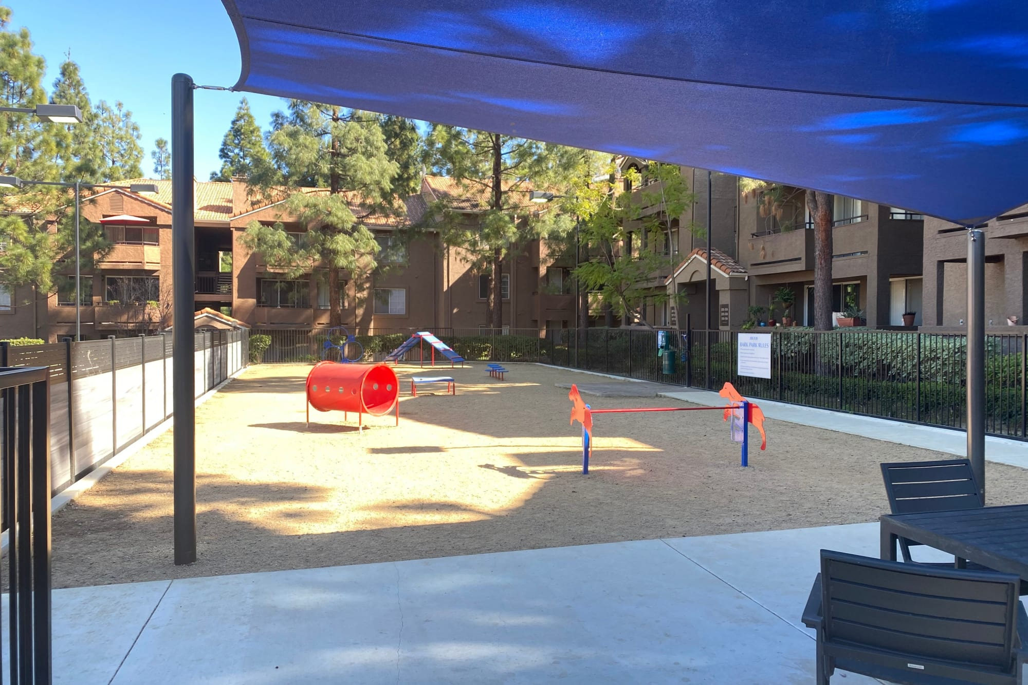 Off-Leash dog park at Sierra Del Oro Apartments