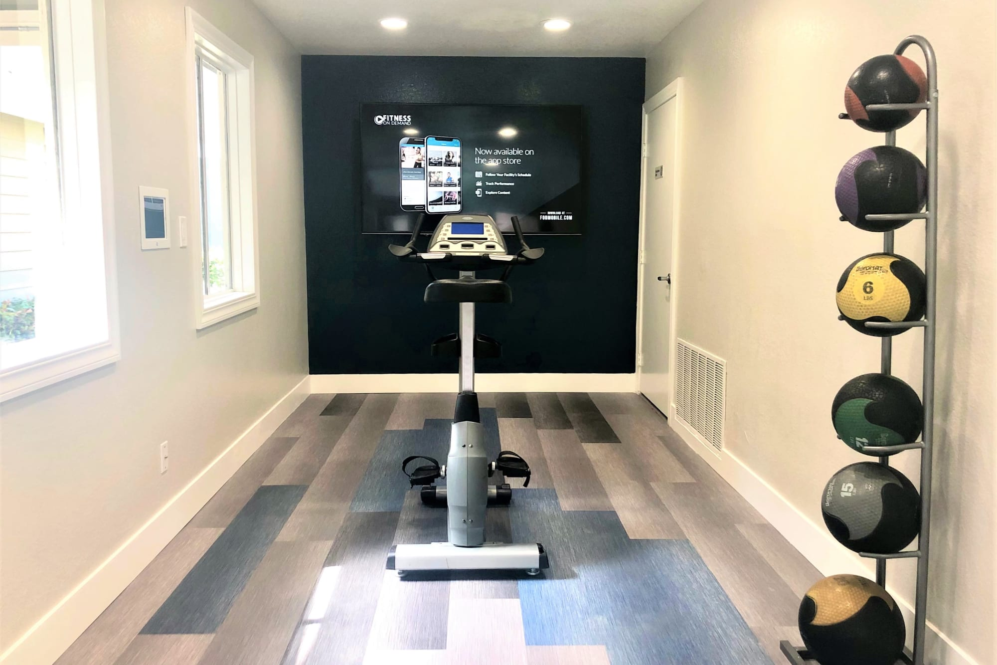 Fitness On Demand Room
