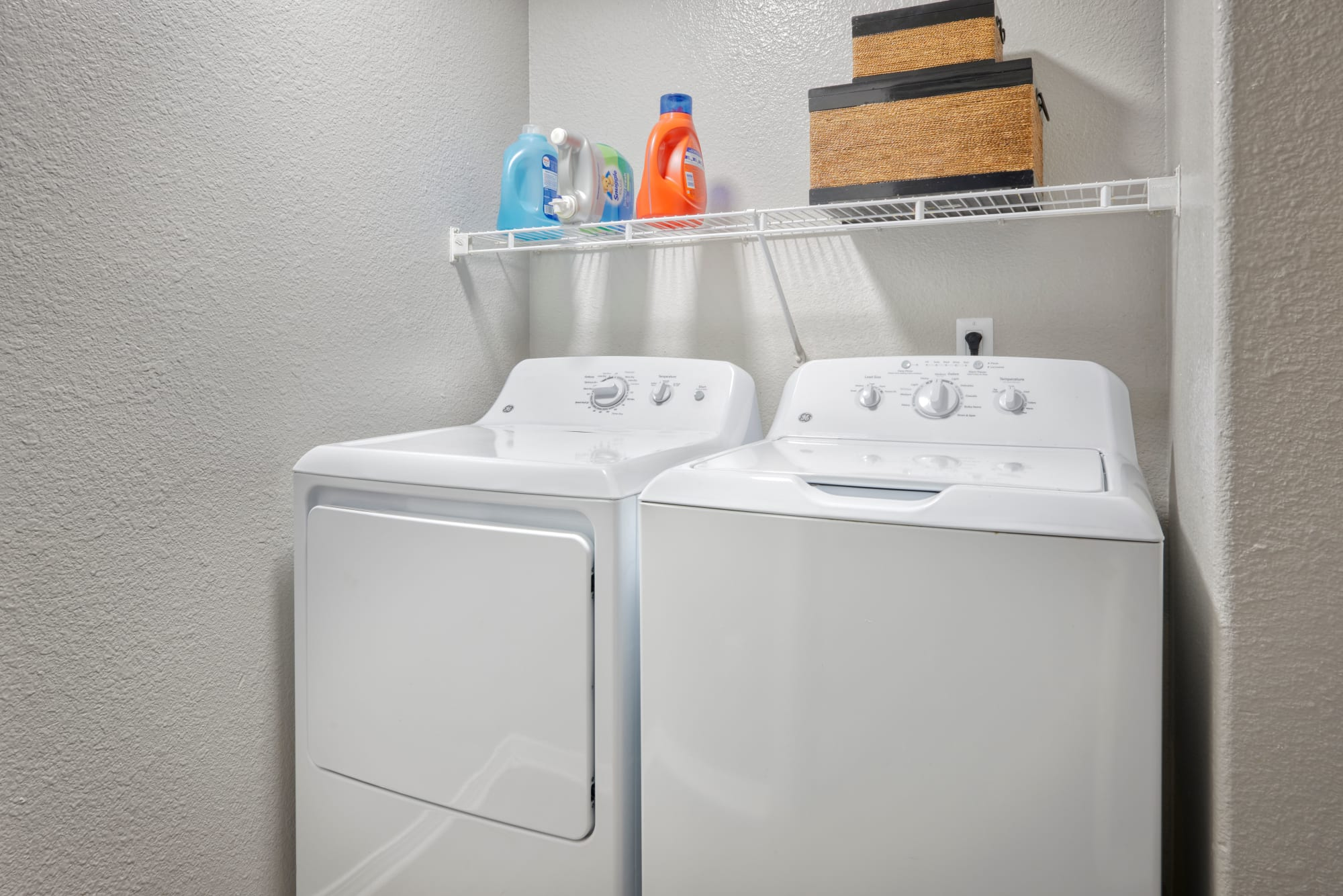 Washer and dryer at Promenade at Hunter's Glen Apartments in Thornton, Colorado