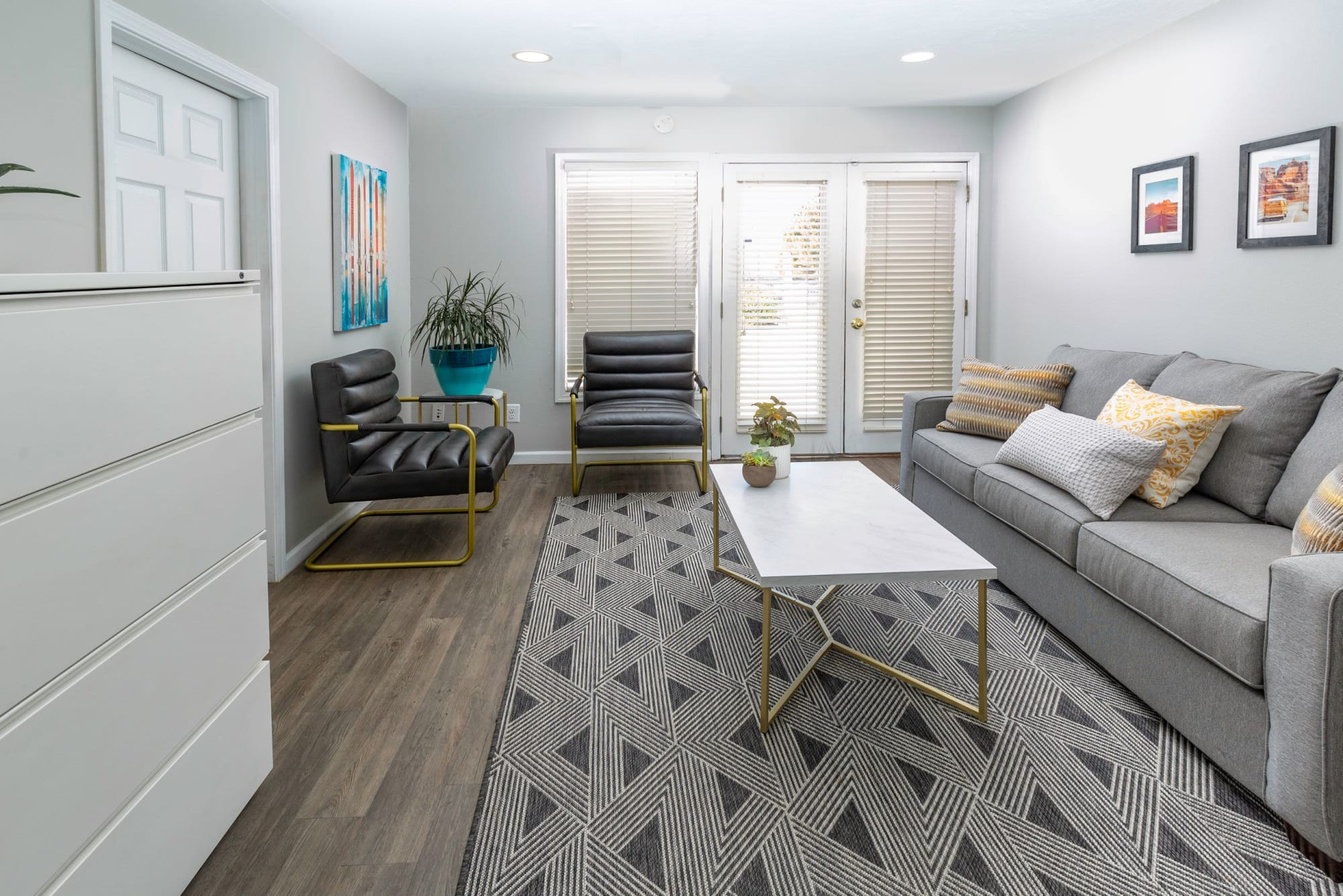 Seating Area/Lounge at Shadowbrook Apartments in West Valley City, Utah