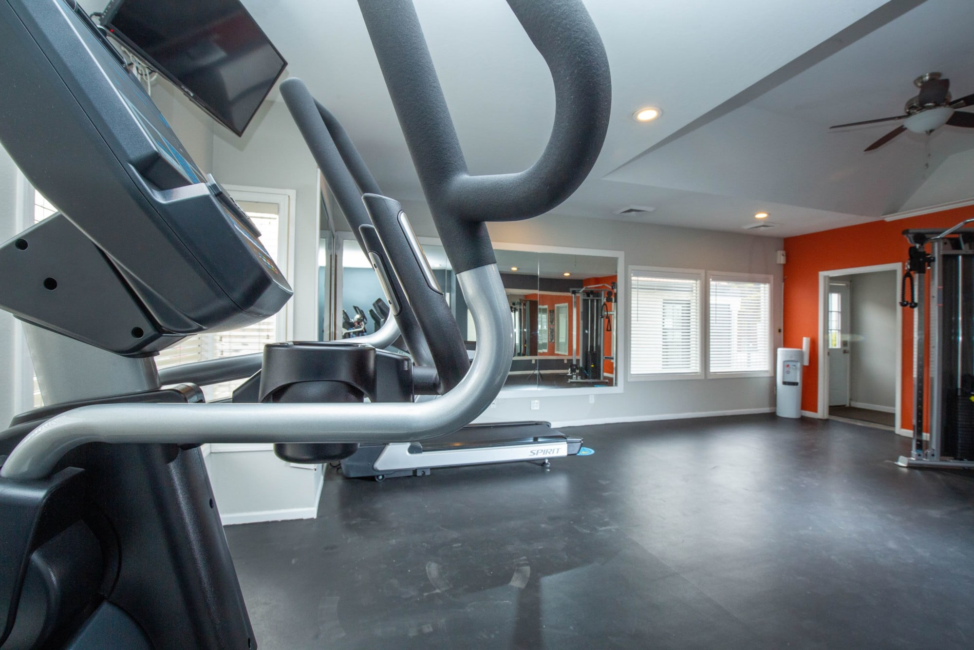 Fitness Center, Open Room Lots of Space at Shadowbrook Apartments in West Valley City, Utah