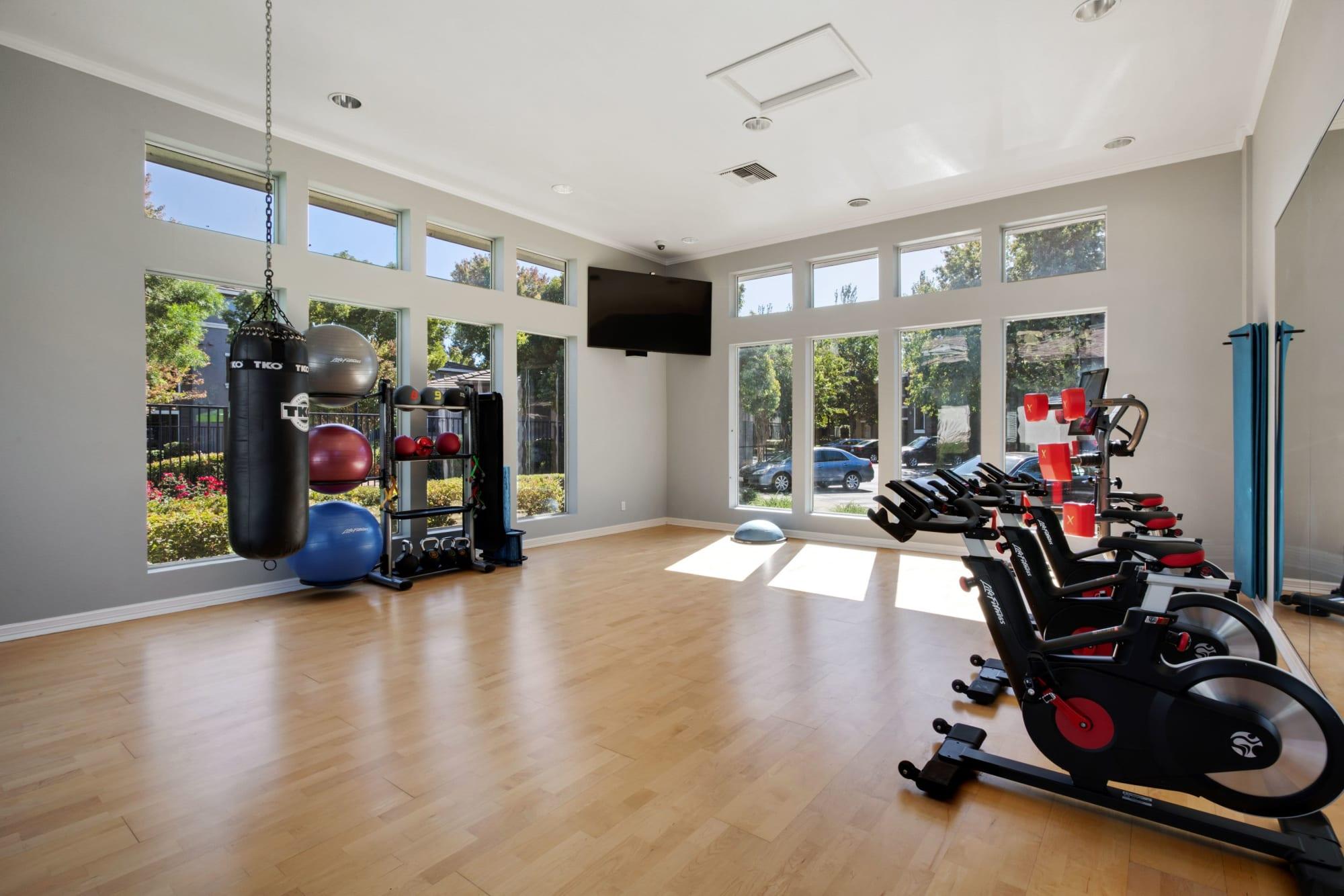 Fitness On Demend Room at Miramonte and Trovas in Sacramento, California