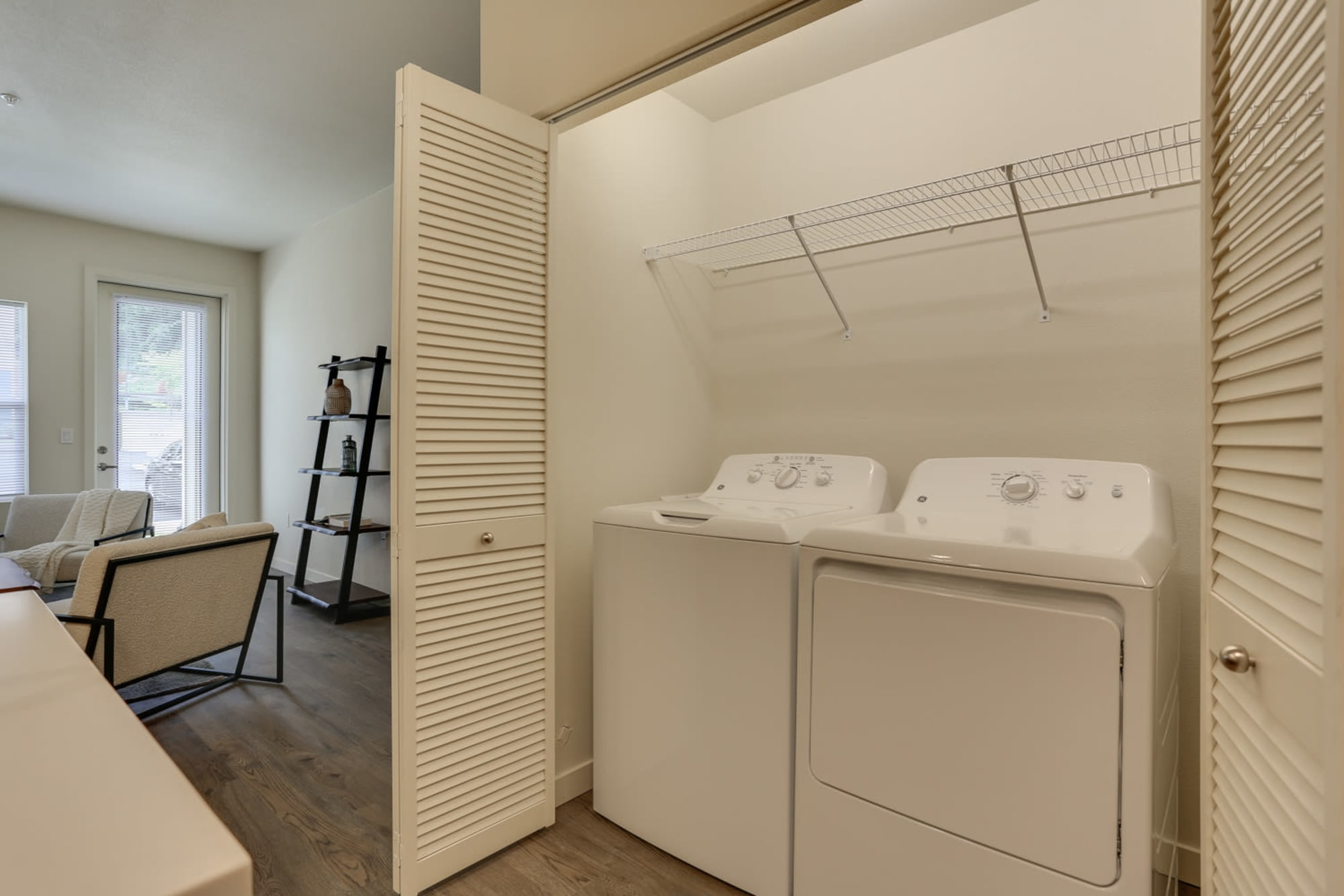 Washer and dryer at Haven Hills in Vancouver, Washington