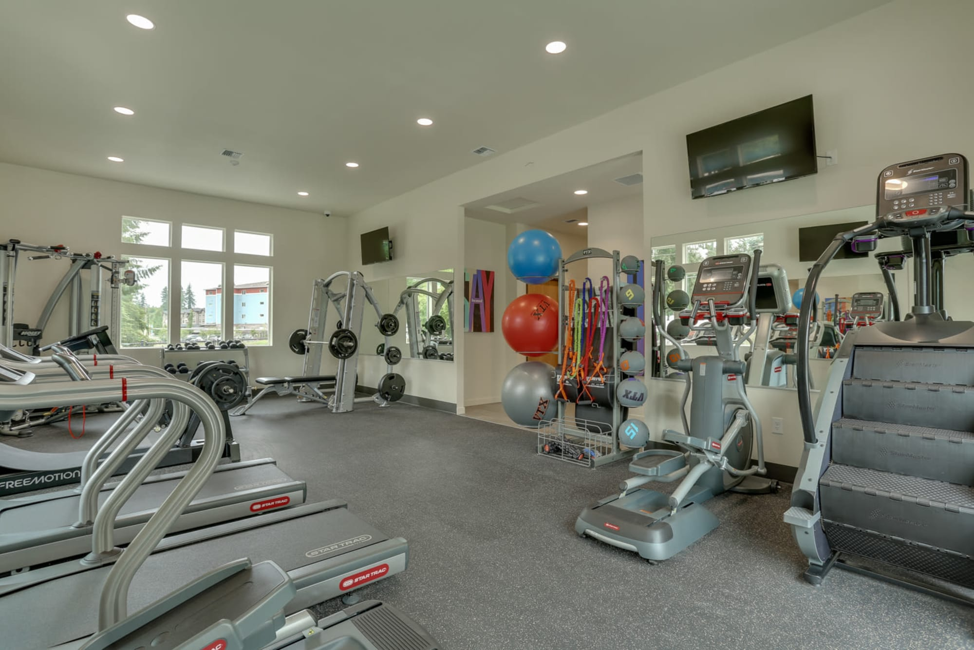 24-hour fitness center at Haven Hills in Vancouver, Washington