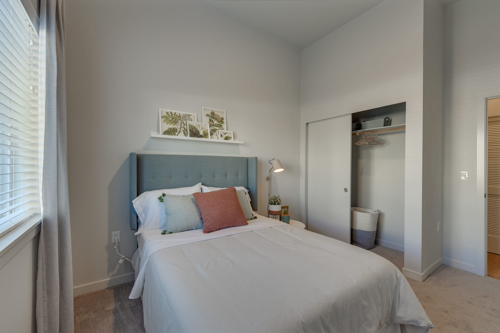 A main bedroom, with ceiling fan, at Kestrel Park in Vancouver, Washington
