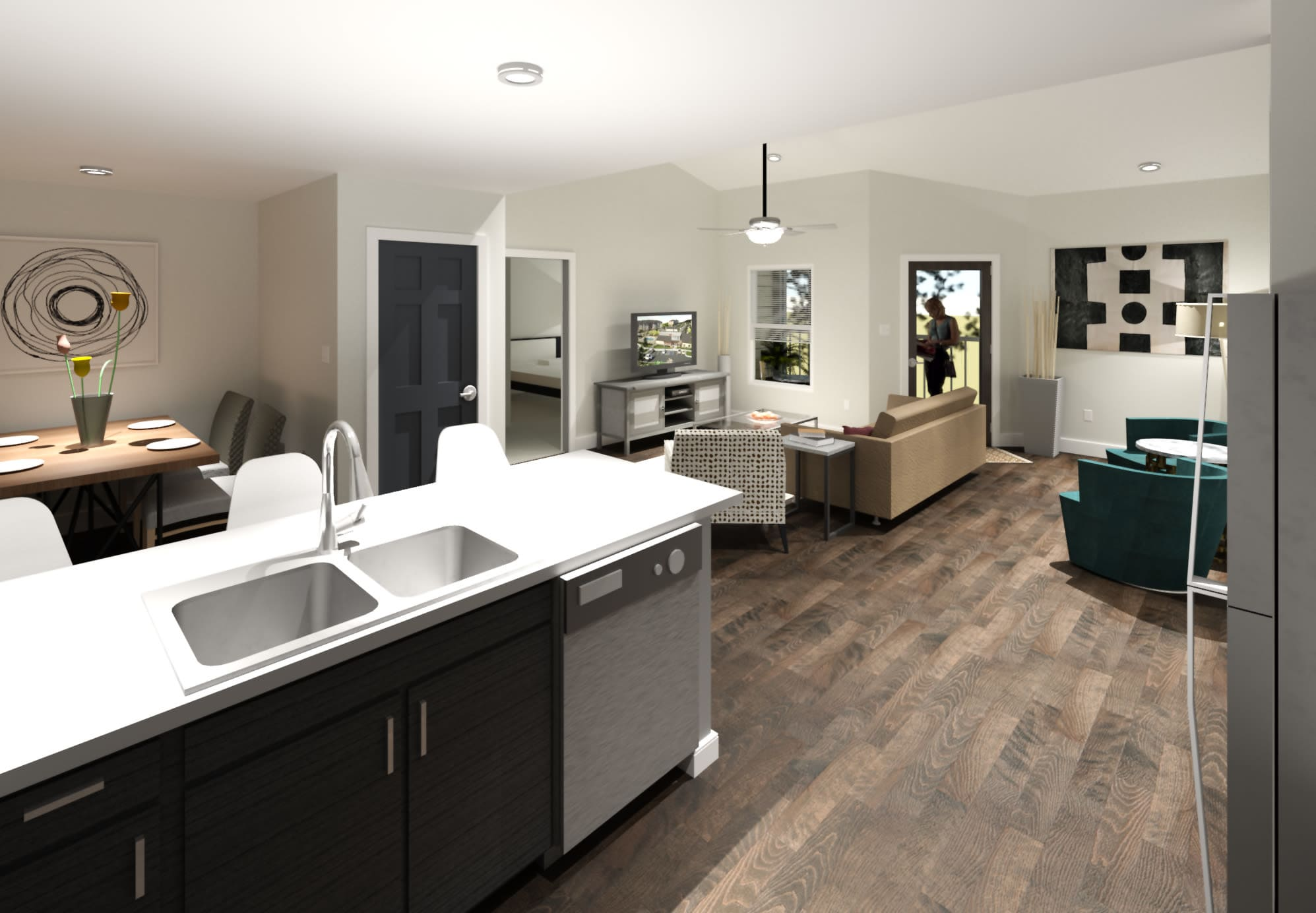 Floor plans available from Canyons at 45 West