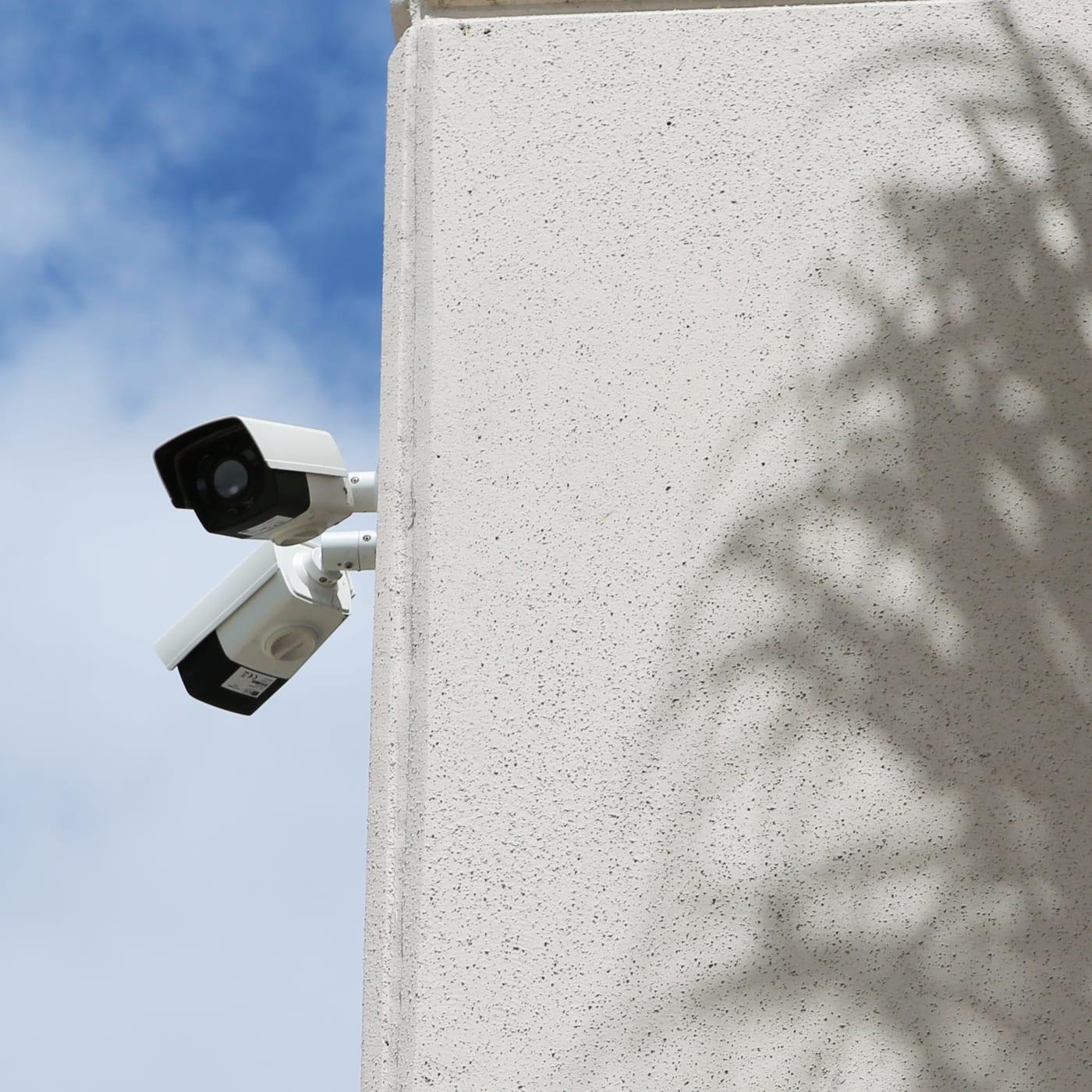 Security cameras at Jupiter Park Self Storage in Jupiter, Florida