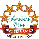 Savannah Cove of Maitland Senior Living is five star rated by Medicare.gov