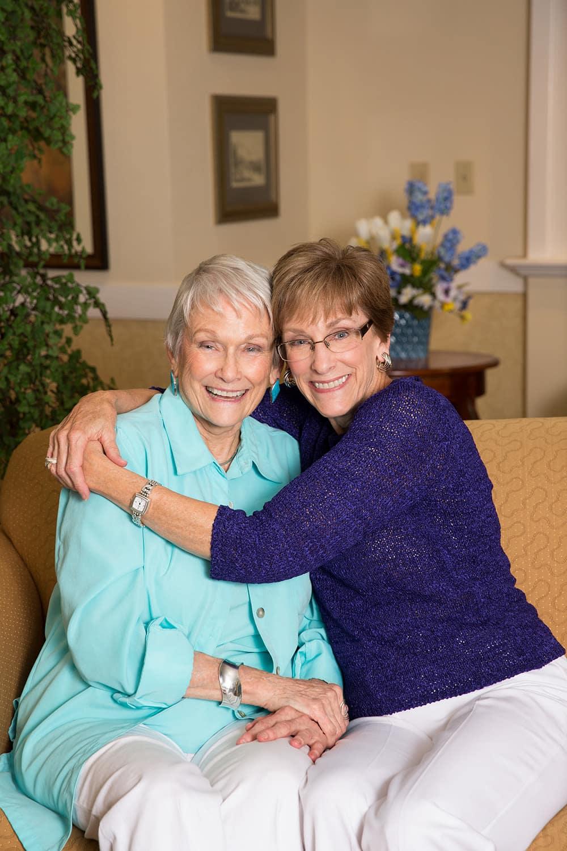 Residents at Green Oaks Senior Living