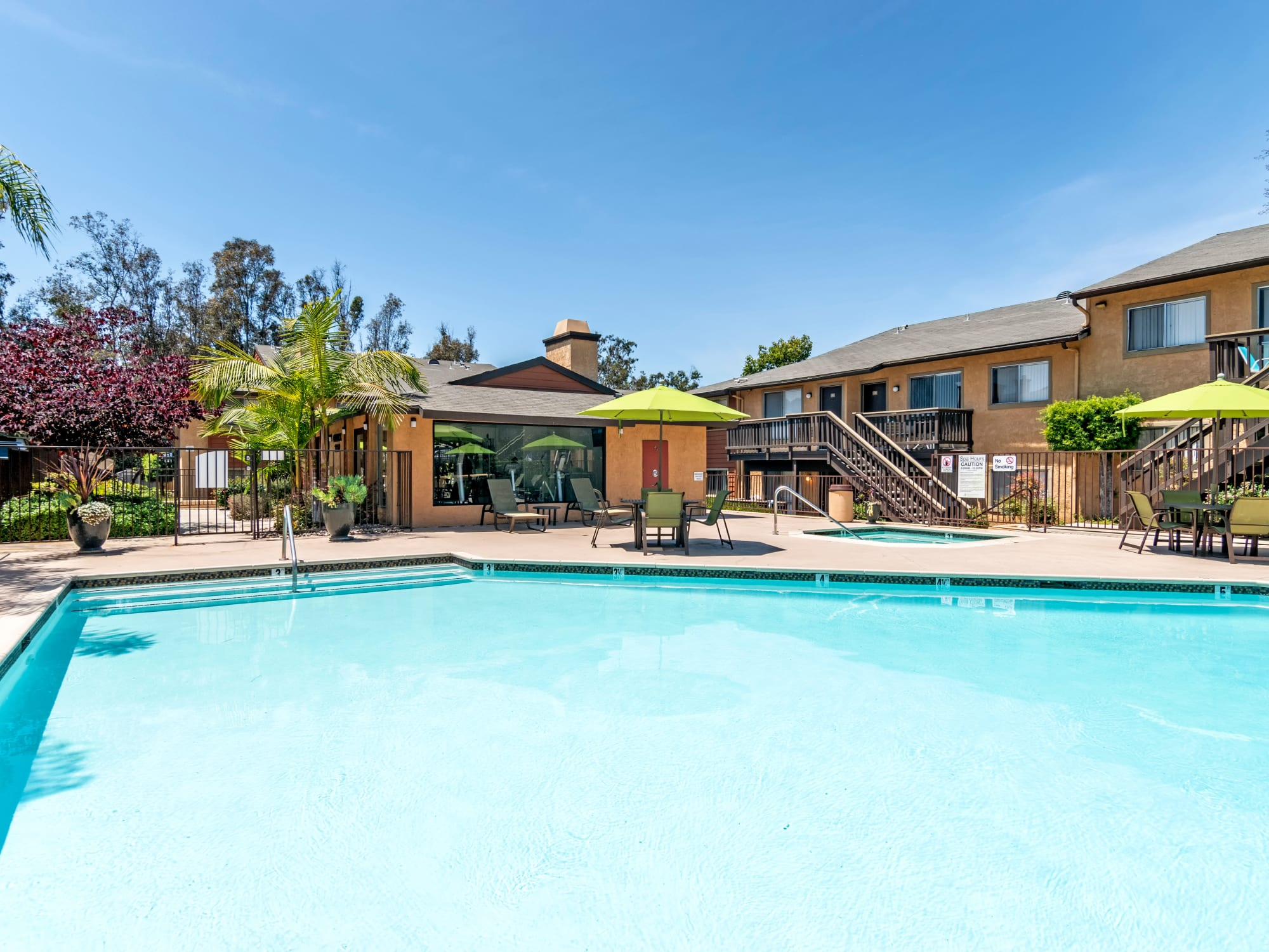 Sparkling Pool View in Lemon Grove, CA