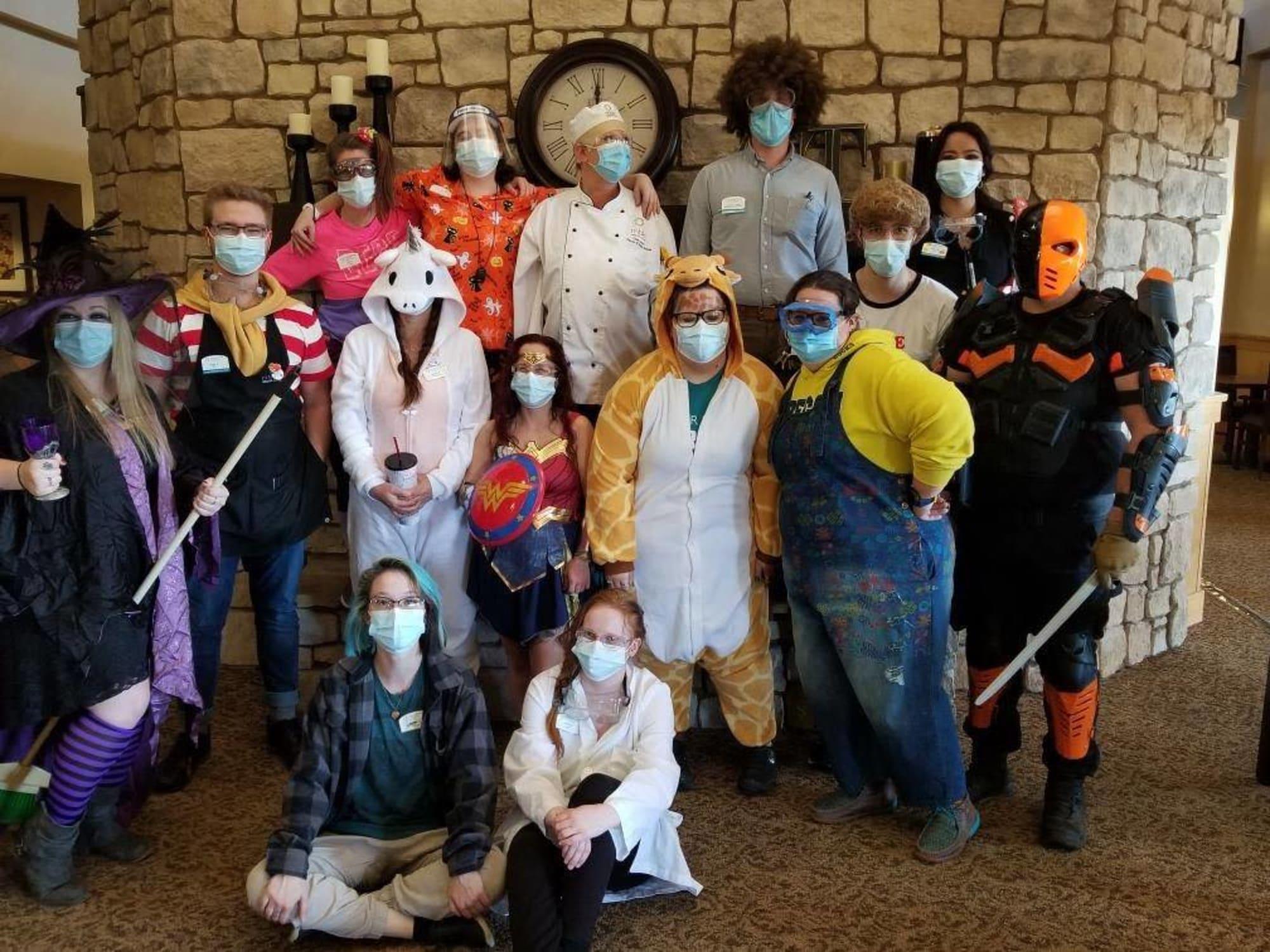 Halloween costumes at Crystal Terrace of Klamath Falls in Klamath Falls, OR