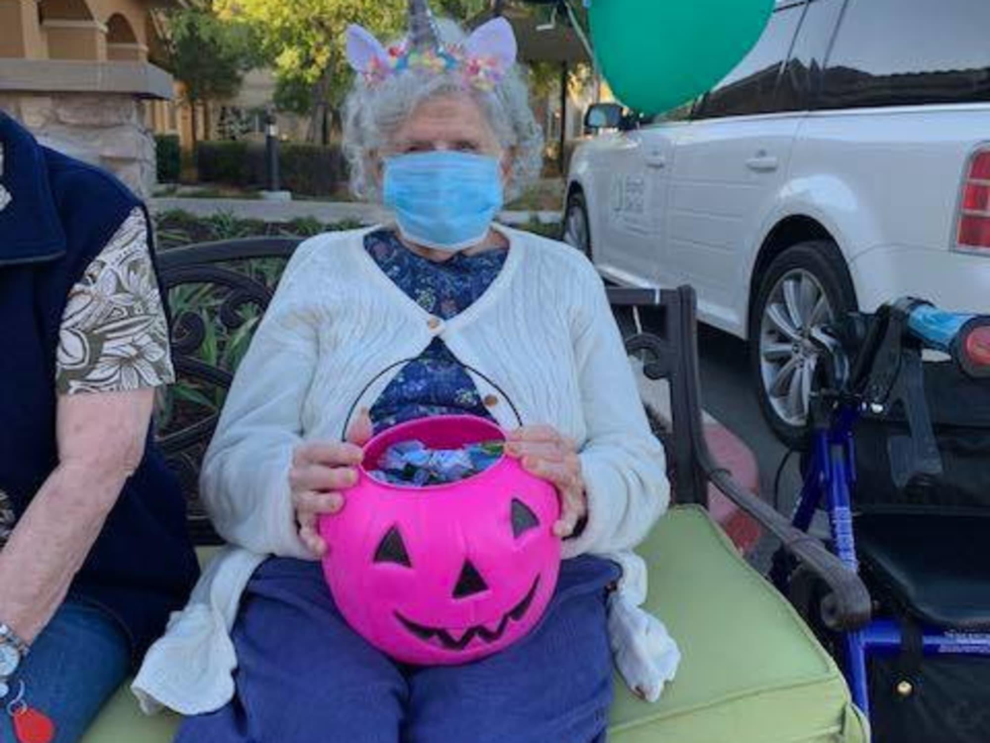 Halloween candy at Estancia Del Sol in Corona, CA