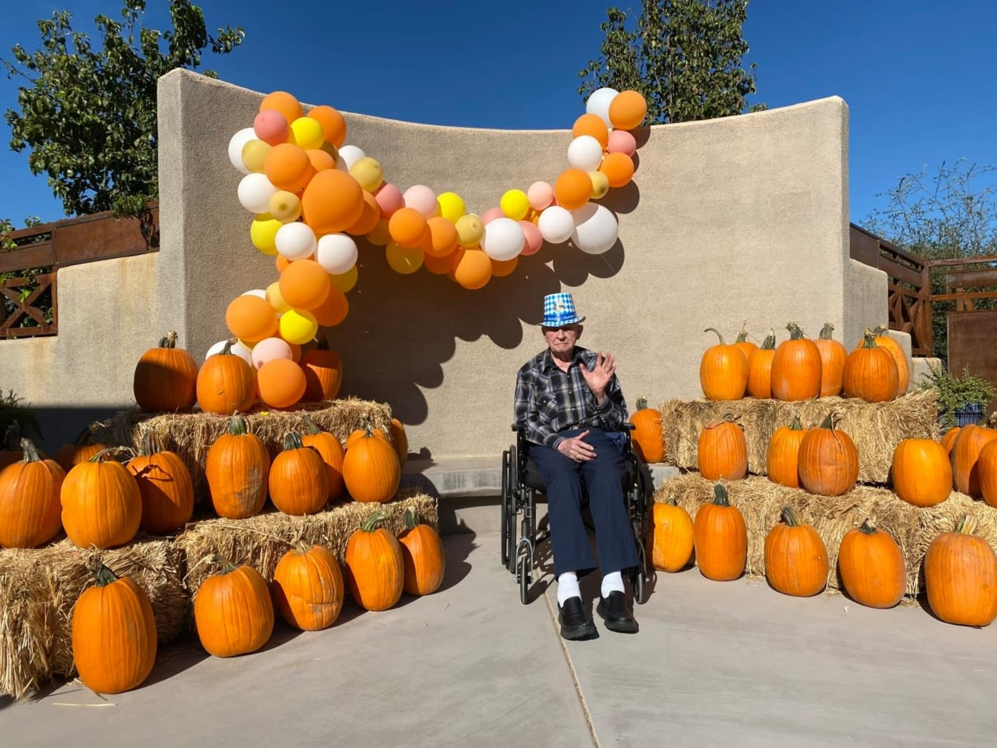Pumpkins at Hacienda Del Rey in Litchfield Park, AZ