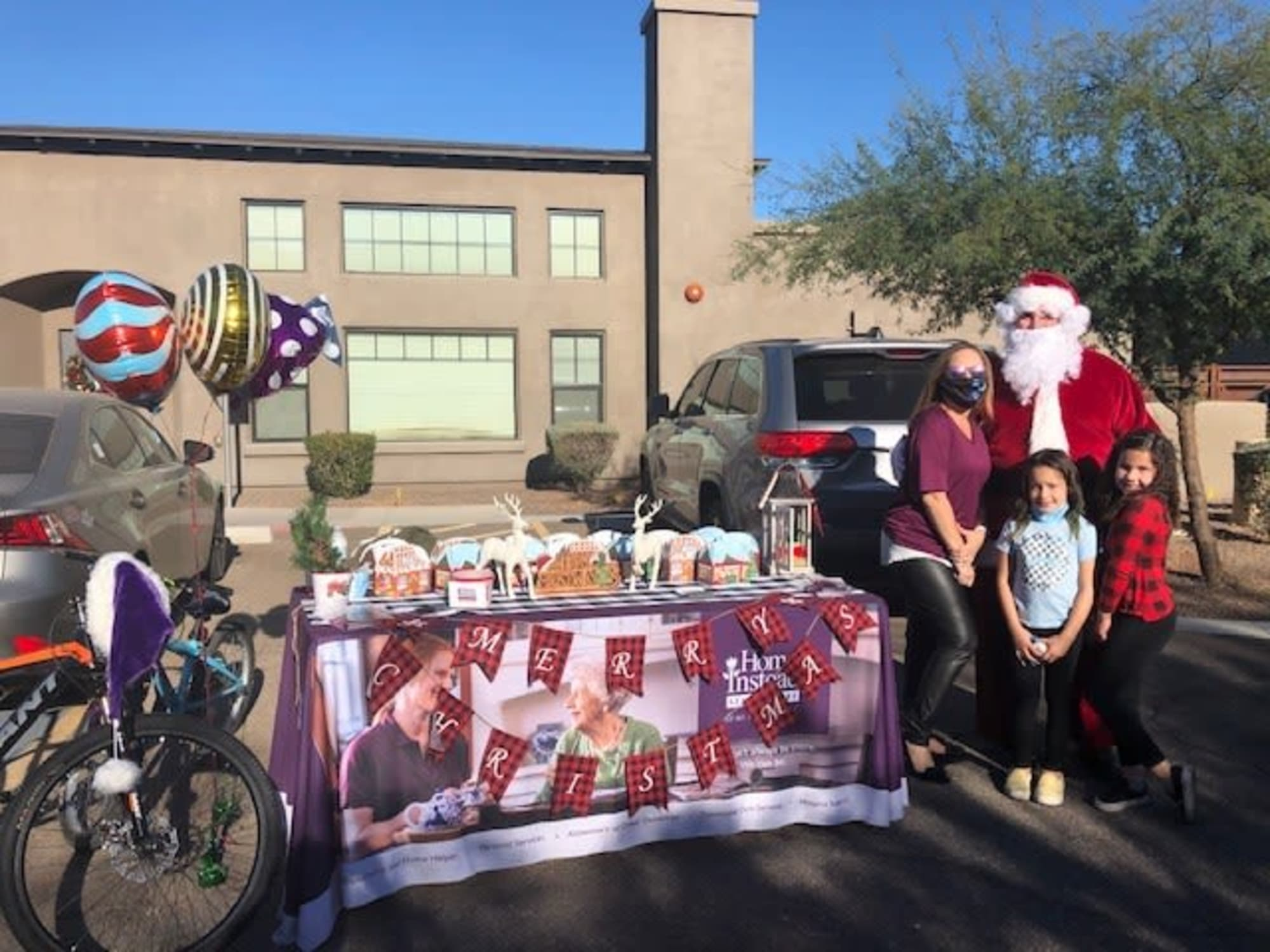 Christmas event at Hacienda Del Rey in Litchfield Park, AZ