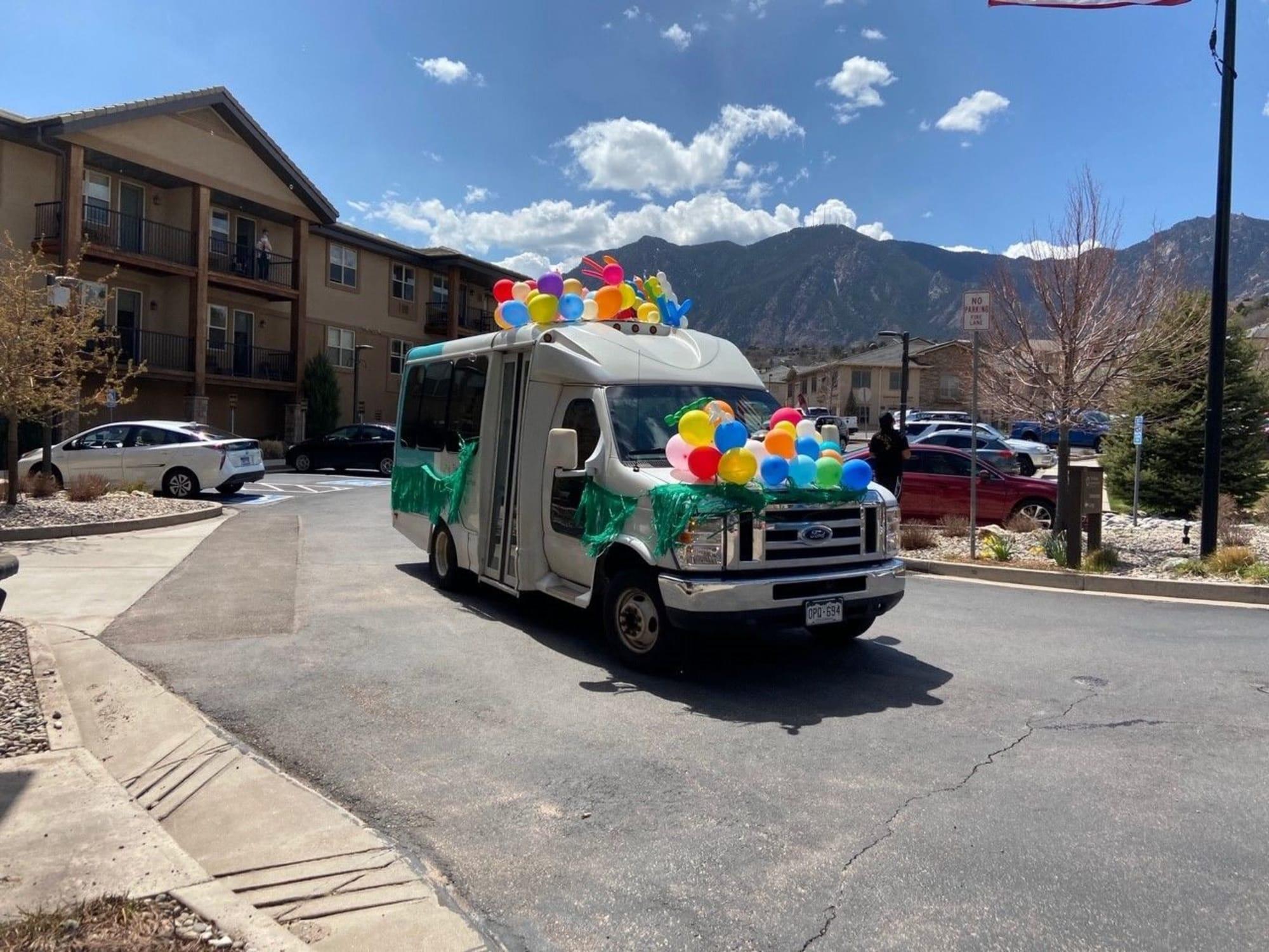 Party bus at Highland Glen in Highland, UT