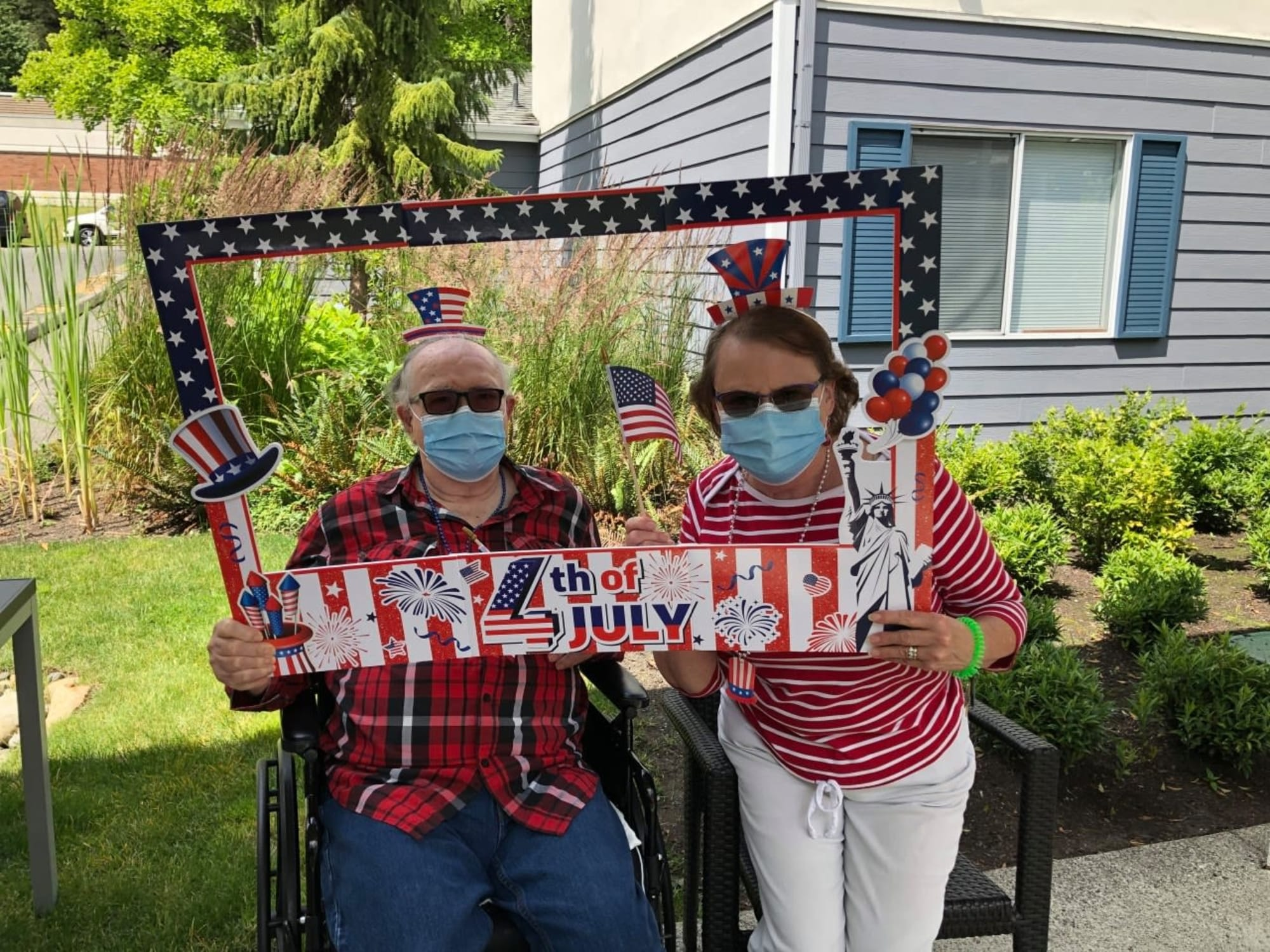 Fourth of July at Mountlake Terrace Plaza in Mountlake Terrace, Washington