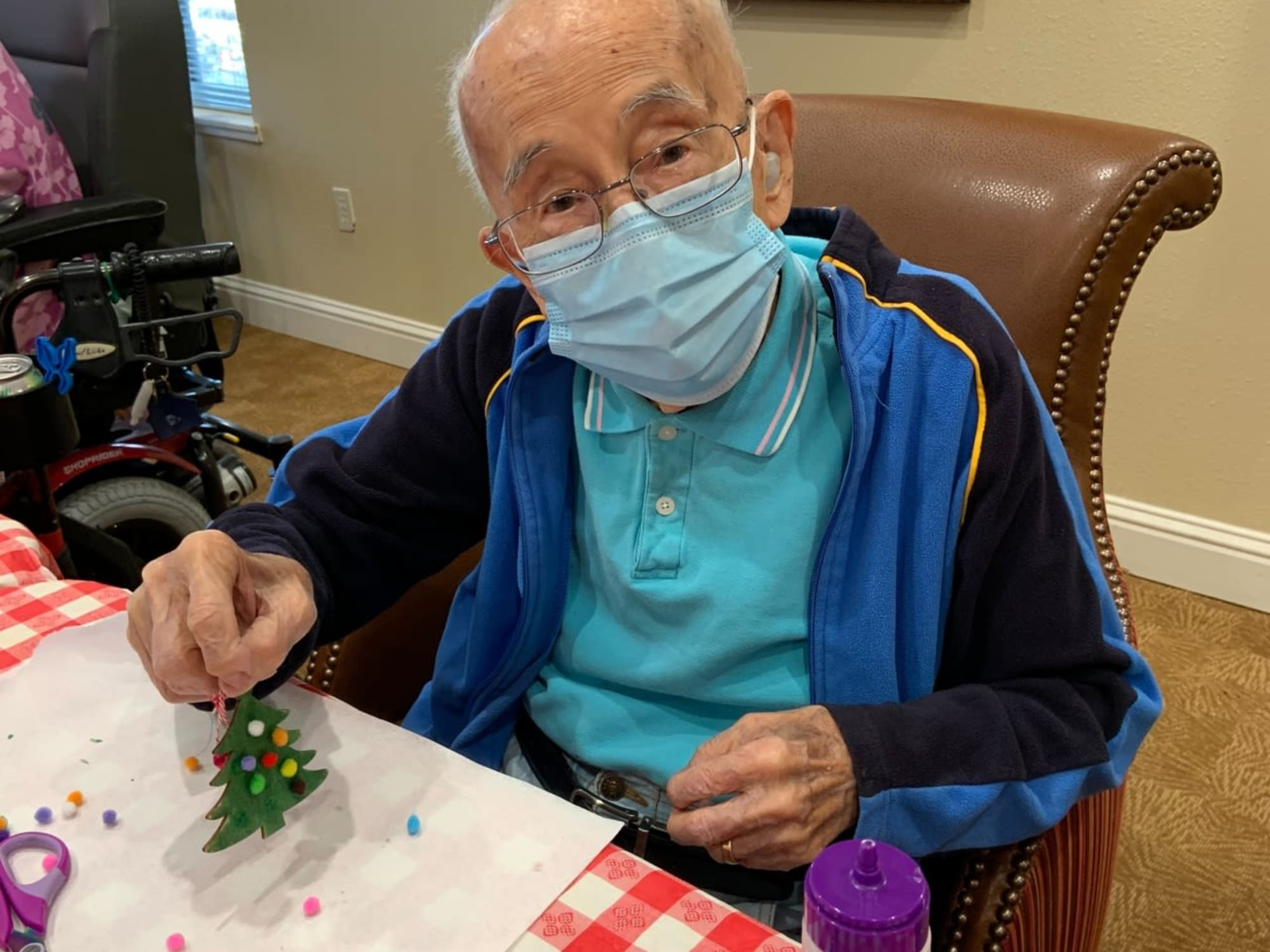 Arts and crafts at The Commons at Elk Grove in Elk Grove, California