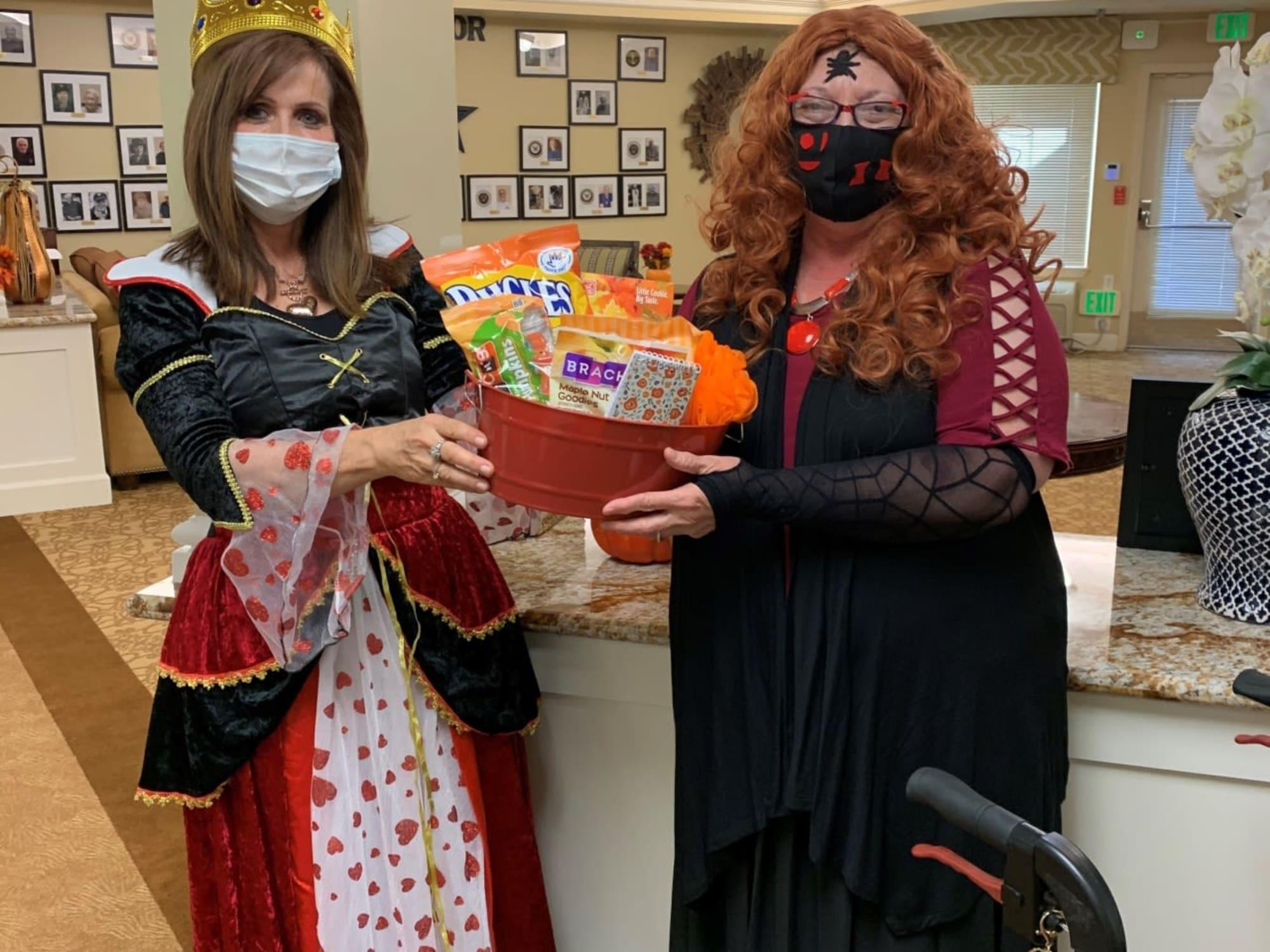 Halloween at The Commons on Thornton in Stockton, California