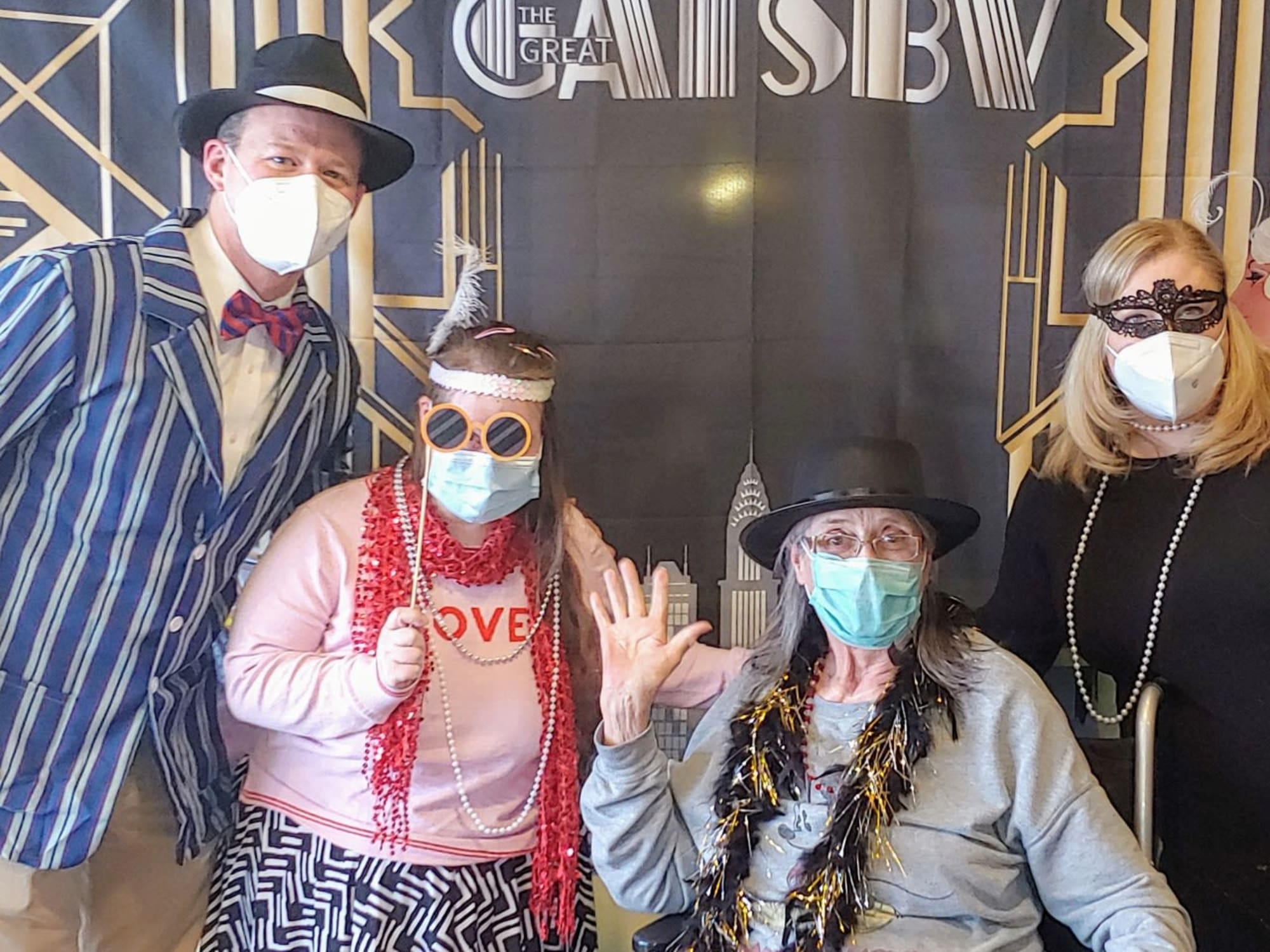 Great Gatsby party at The Wellington in Salt Lake City, Utah