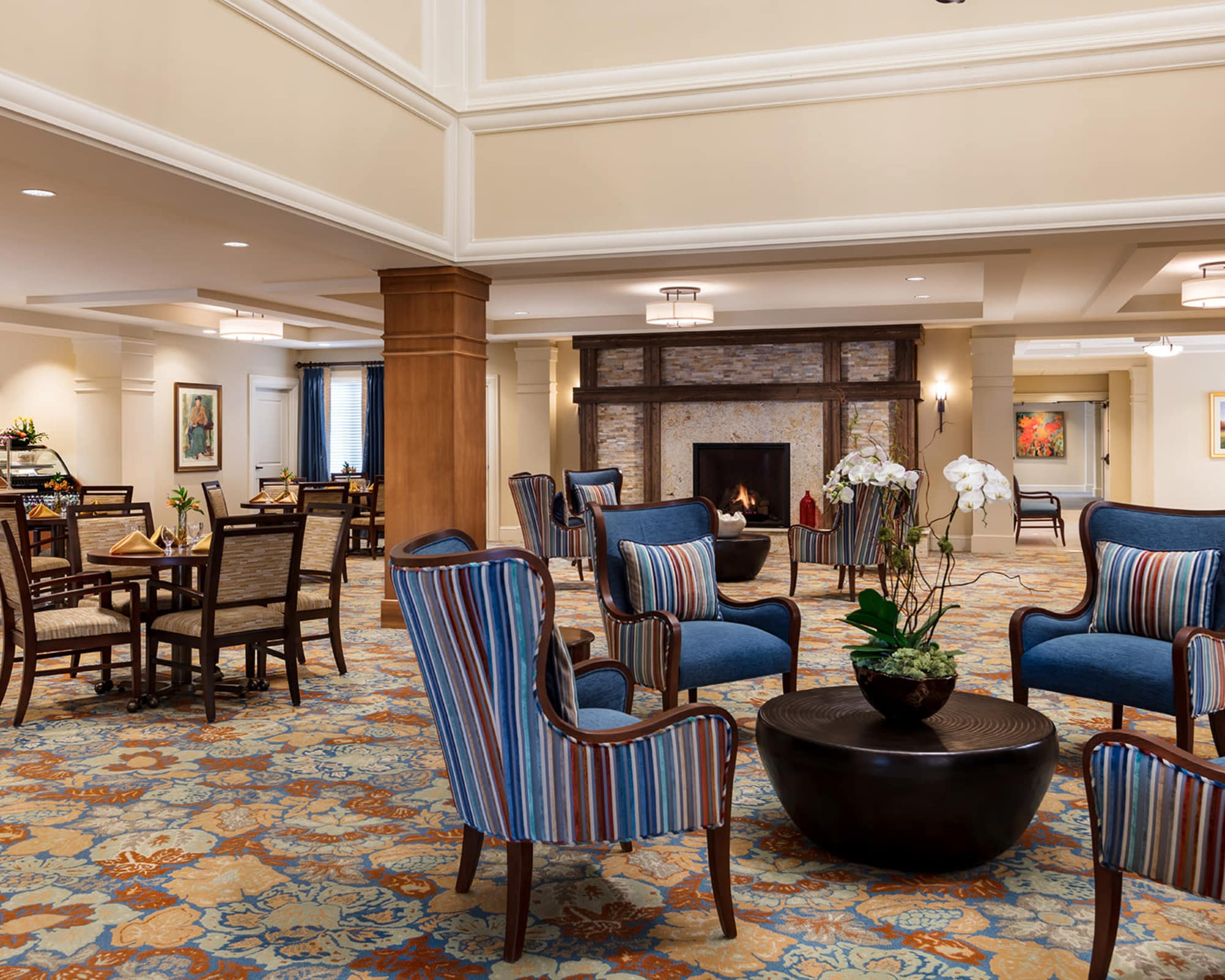 Exquisite senior living facility located in Long Grove