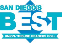 San Diego's Best union-tribune readers poll logo
